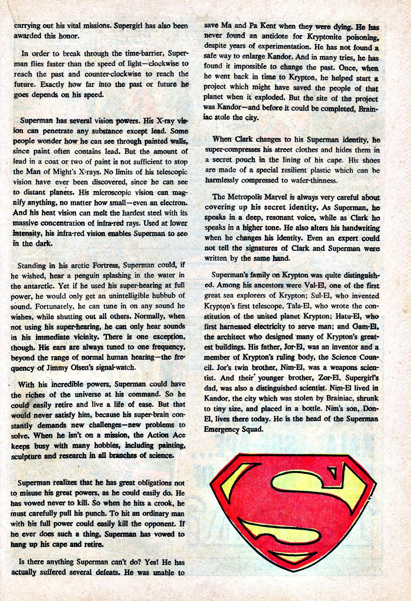 Read online Action Comics (1938) comic -  Issue #412 - 32