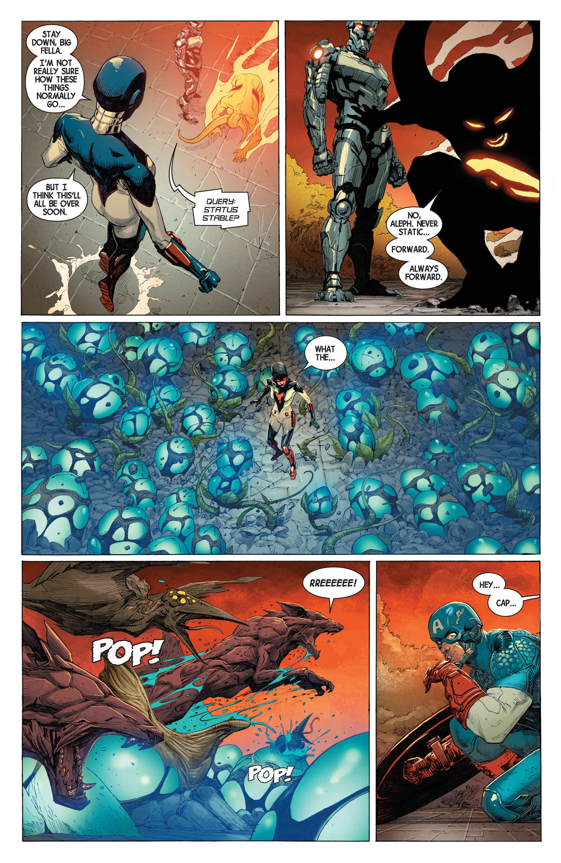 Read online Avengers (2013) comic -  Issue #3 - 12