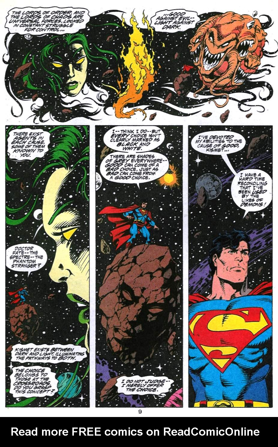 Read online Adventures of Superman (1987) comic -  Issue #494 - 10