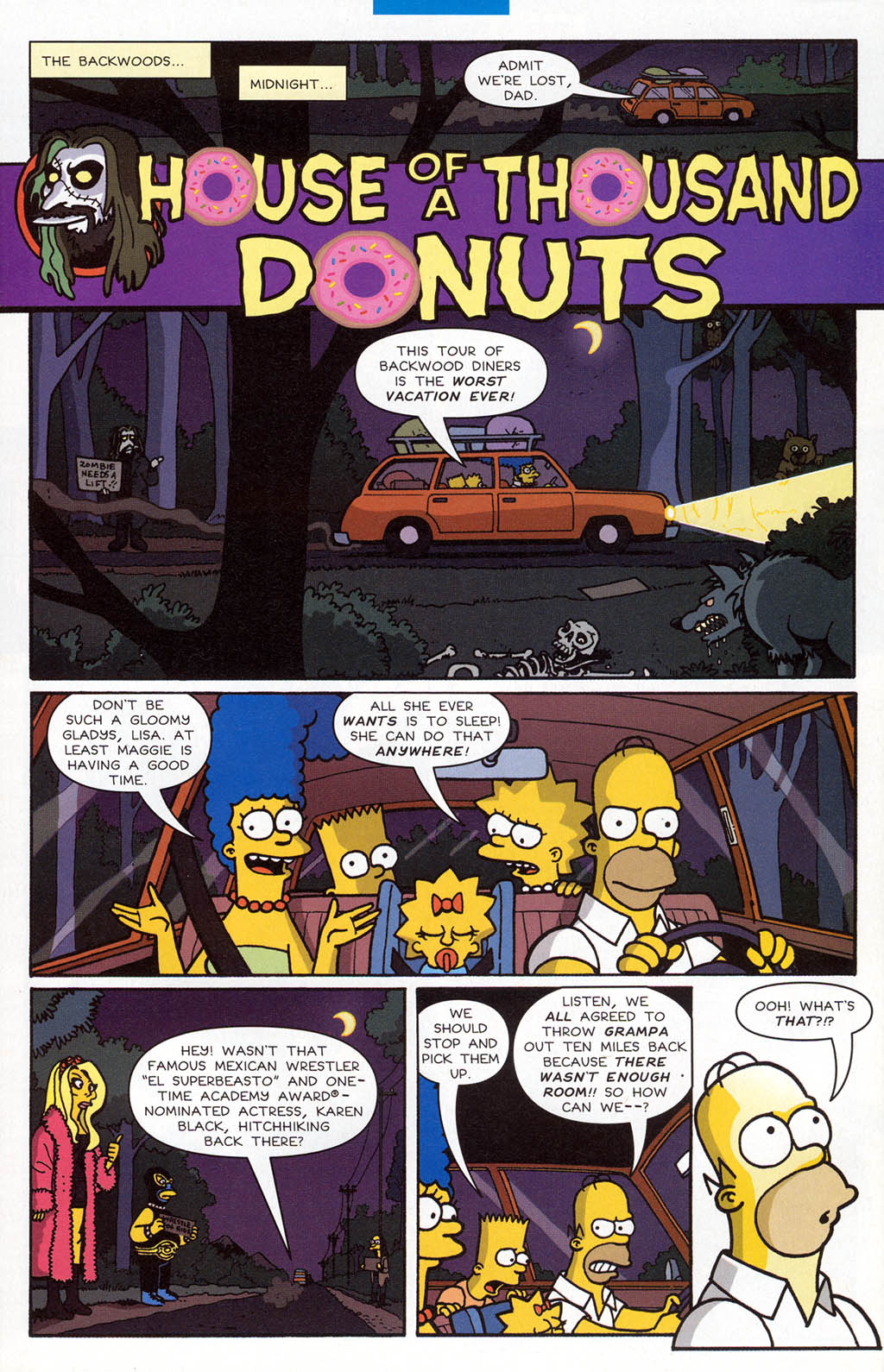 Read online Treehouse of Horror comic -  Issue #10 - 32