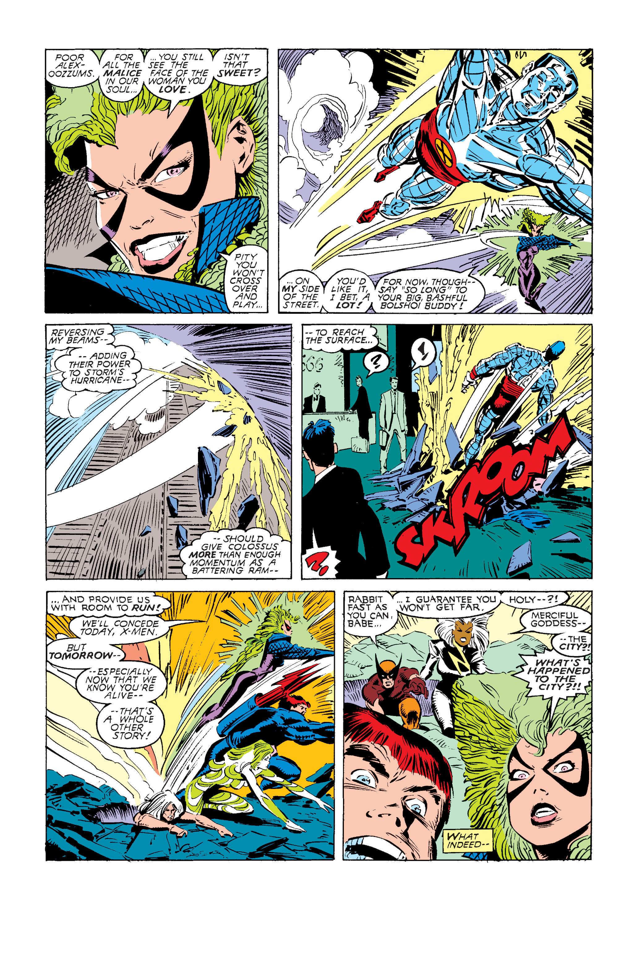 Read online Uncanny X-Men (1963) comic -  Issue #240 - 22