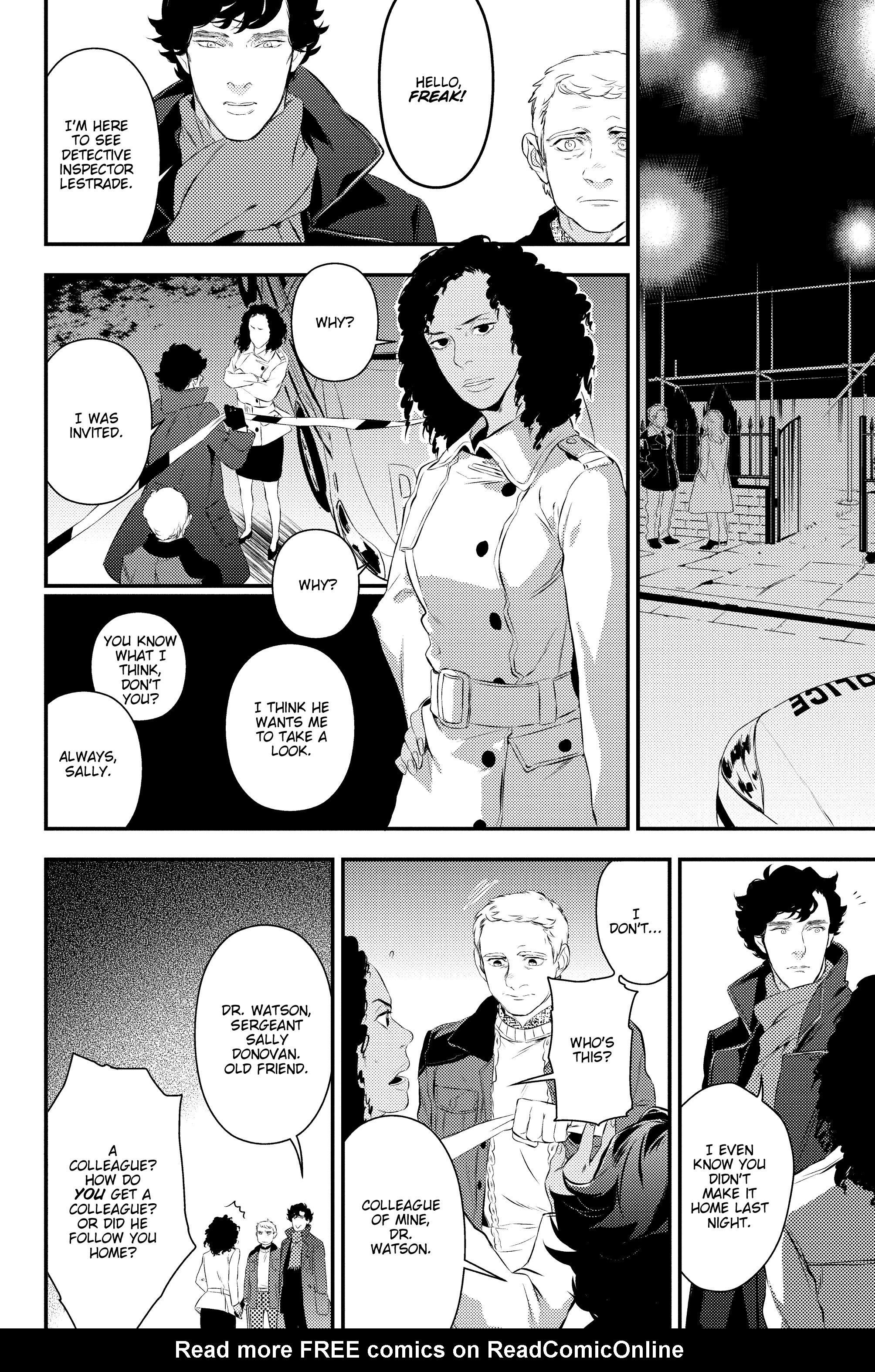 Read online Sherlock: A Study In Pink comic -  Issue #2 - 15