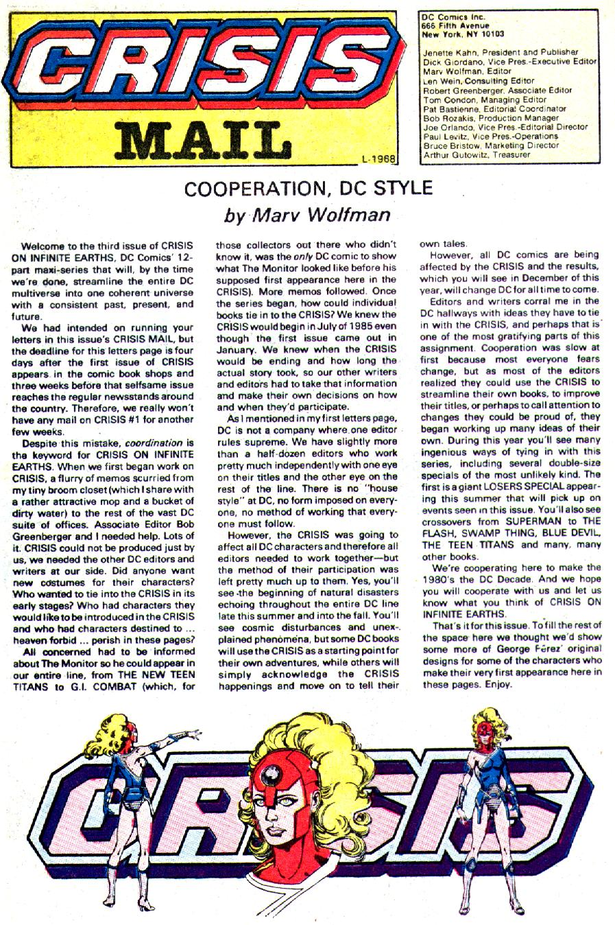 Read online Crisis on Infinite Earths (1985) comic -  Issue #3 - 28