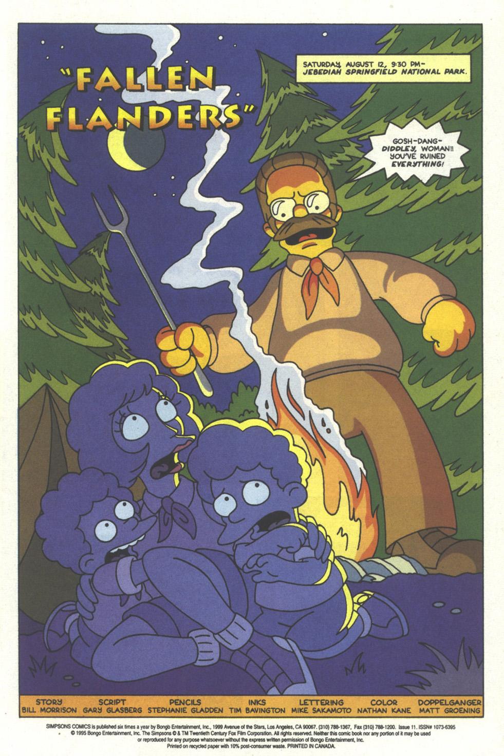 Read online Simpsons Comics comic -  Issue #11 - 2
