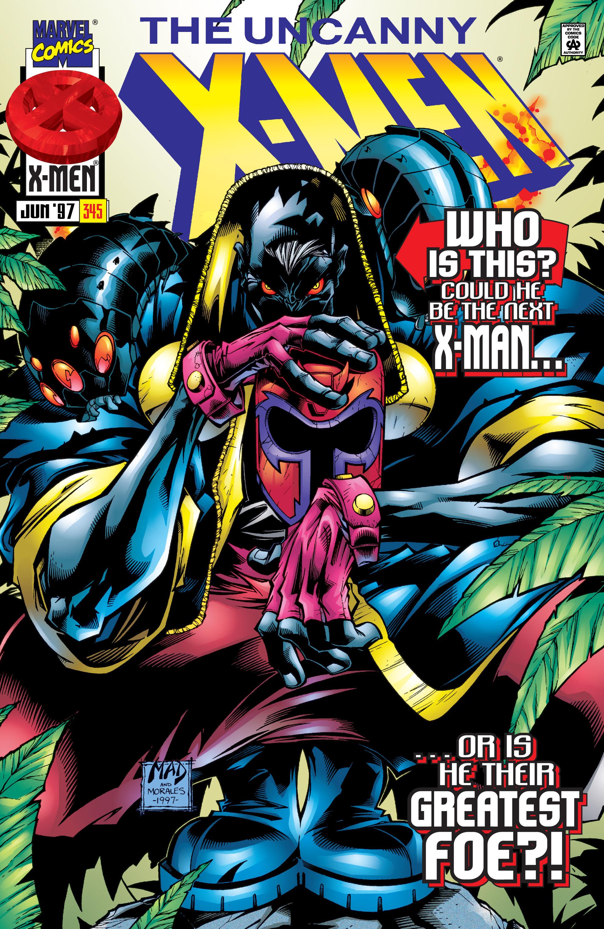 Read online Uncanny X-Men (1963) comic -  Issue #345 - 1