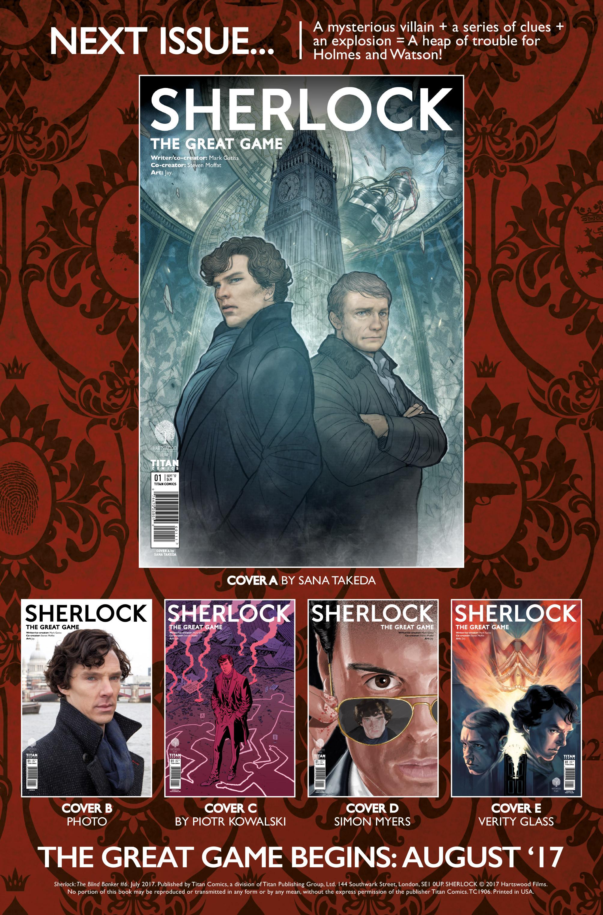 Read online Sherlock: The Blind Banker comic -  Issue #6 - 27