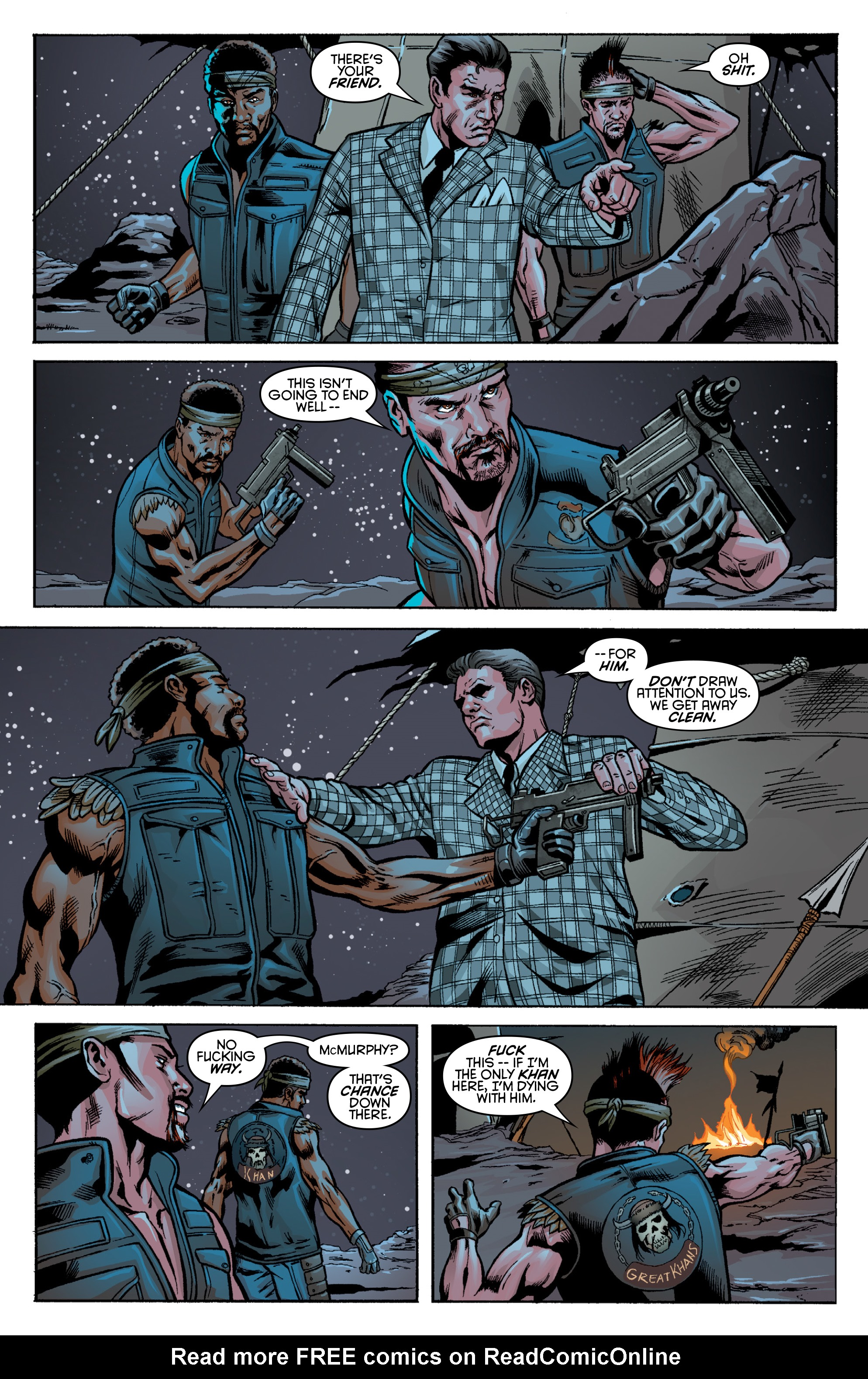 Read online Fallout: New Vegas-All Roads comic -  Issue # Full - 29