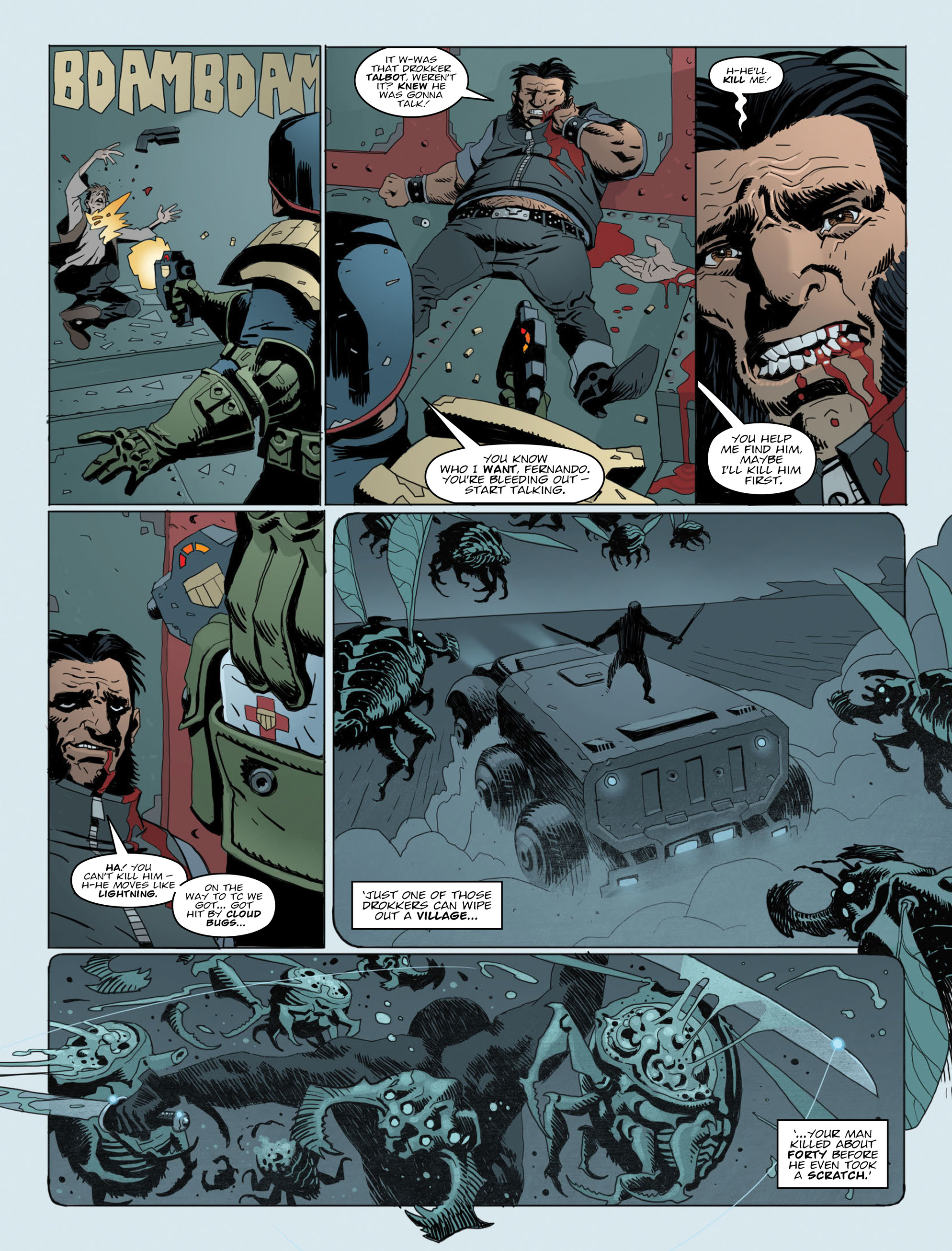 Read online 2000 AD comic -  Issue #2014 - 7