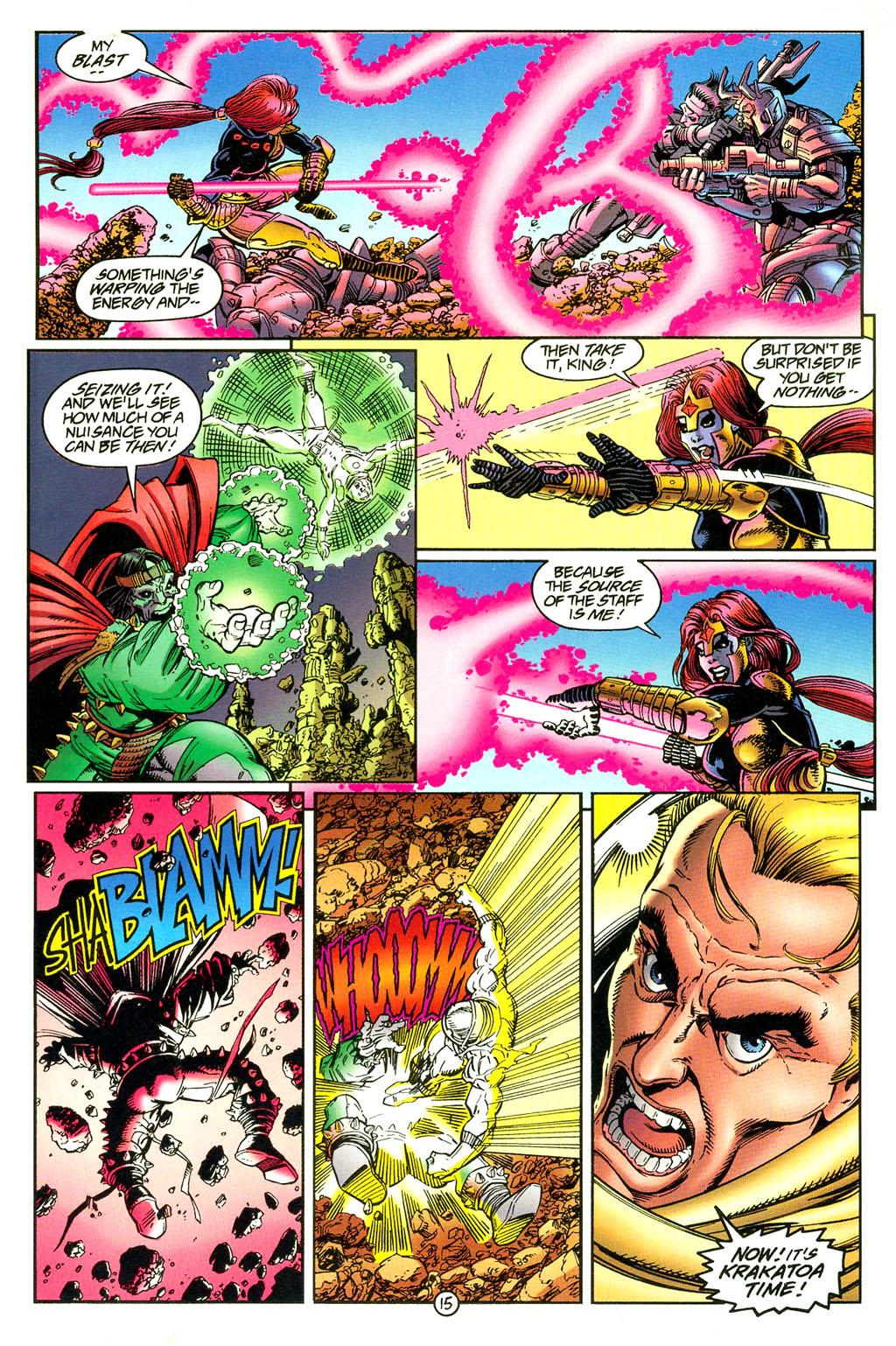 Read online UltraForce (1994) comic -  Issue #5 - 16