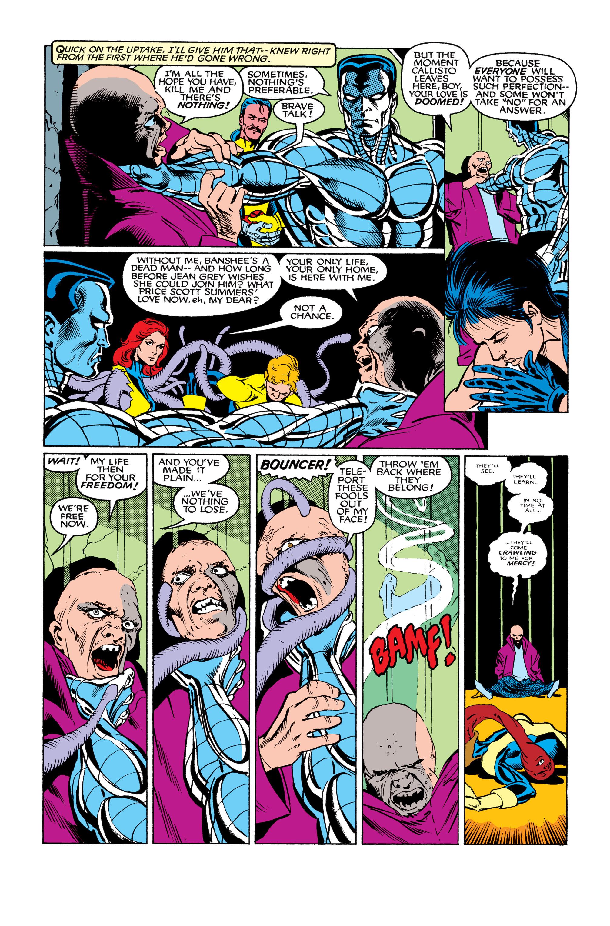 Read online Uncanny X-Men (1963) comic -  Issue #263 - 23