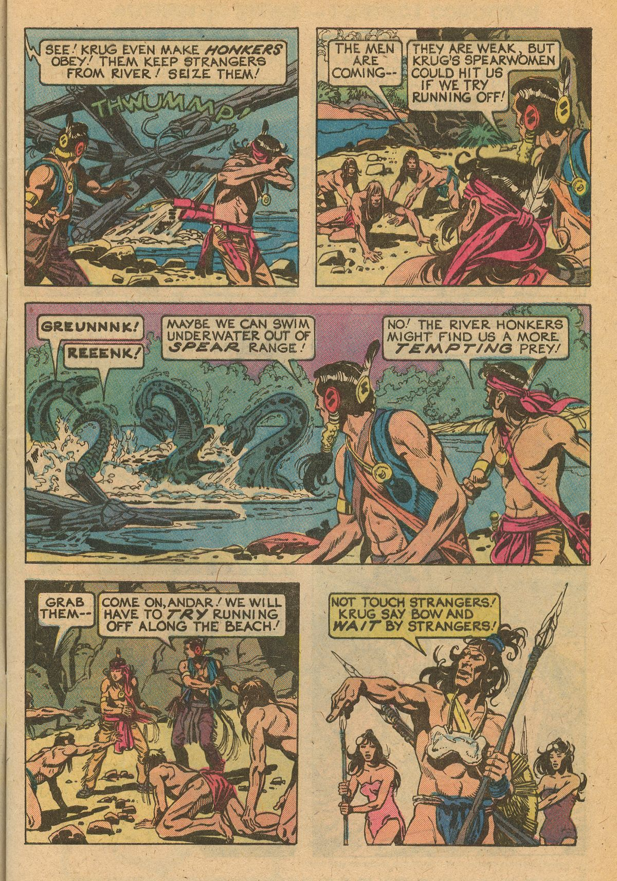 Read online Turok, Son of Stone comic -  Issue #115 - 5
