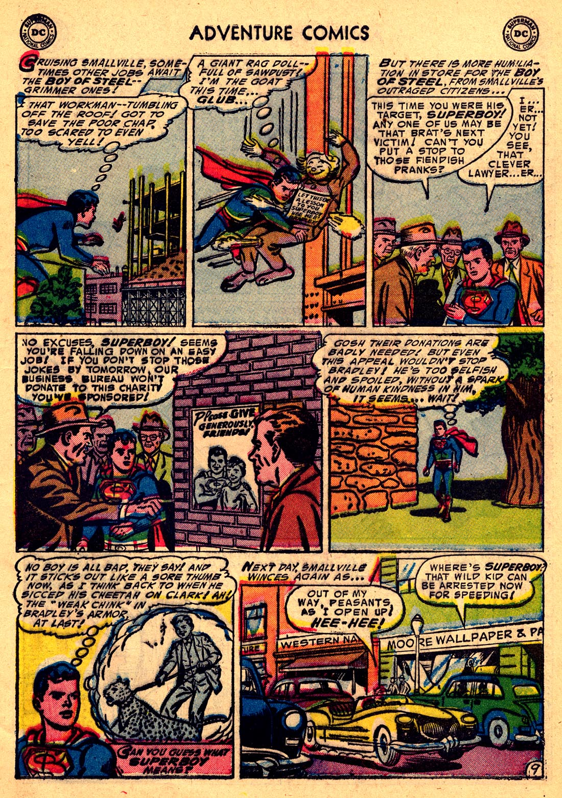 Read online Adventure Comics (1938) comic -  Issue #204 - 11
