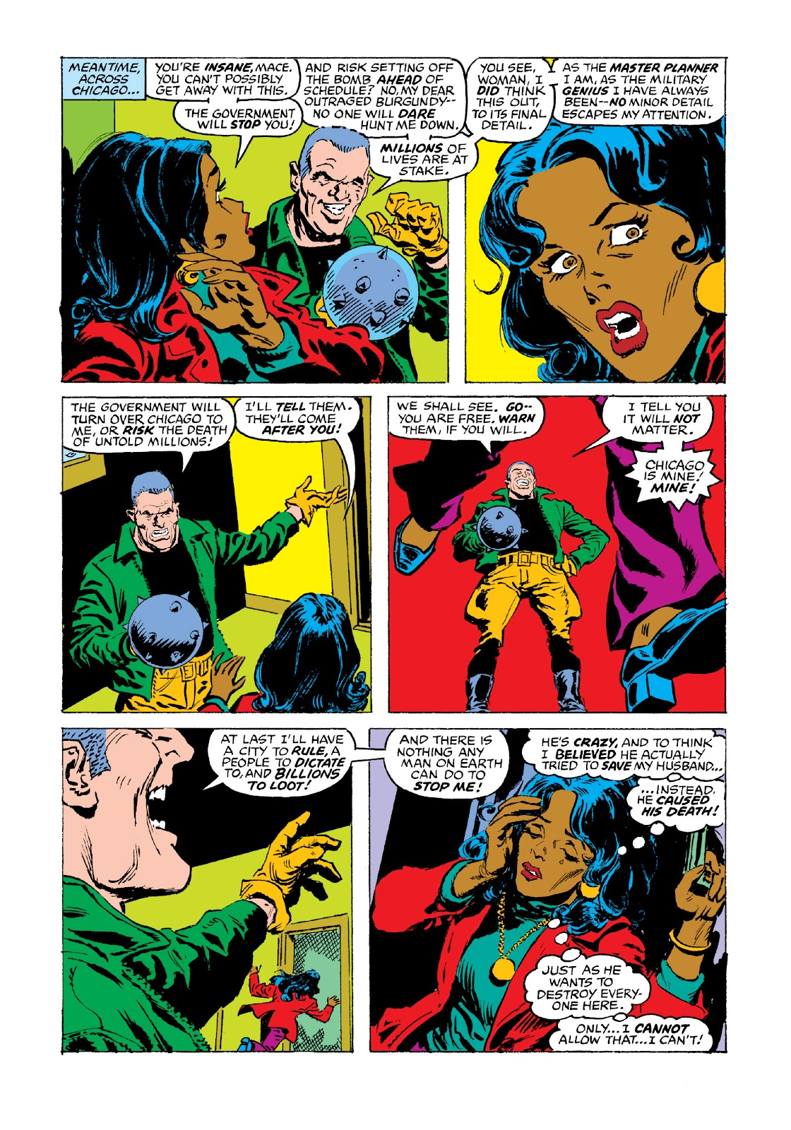 Read online Marvel Masterworks: Luke Cage, Power Man comic -  Issue # TPB 3 (Part 3) - 66