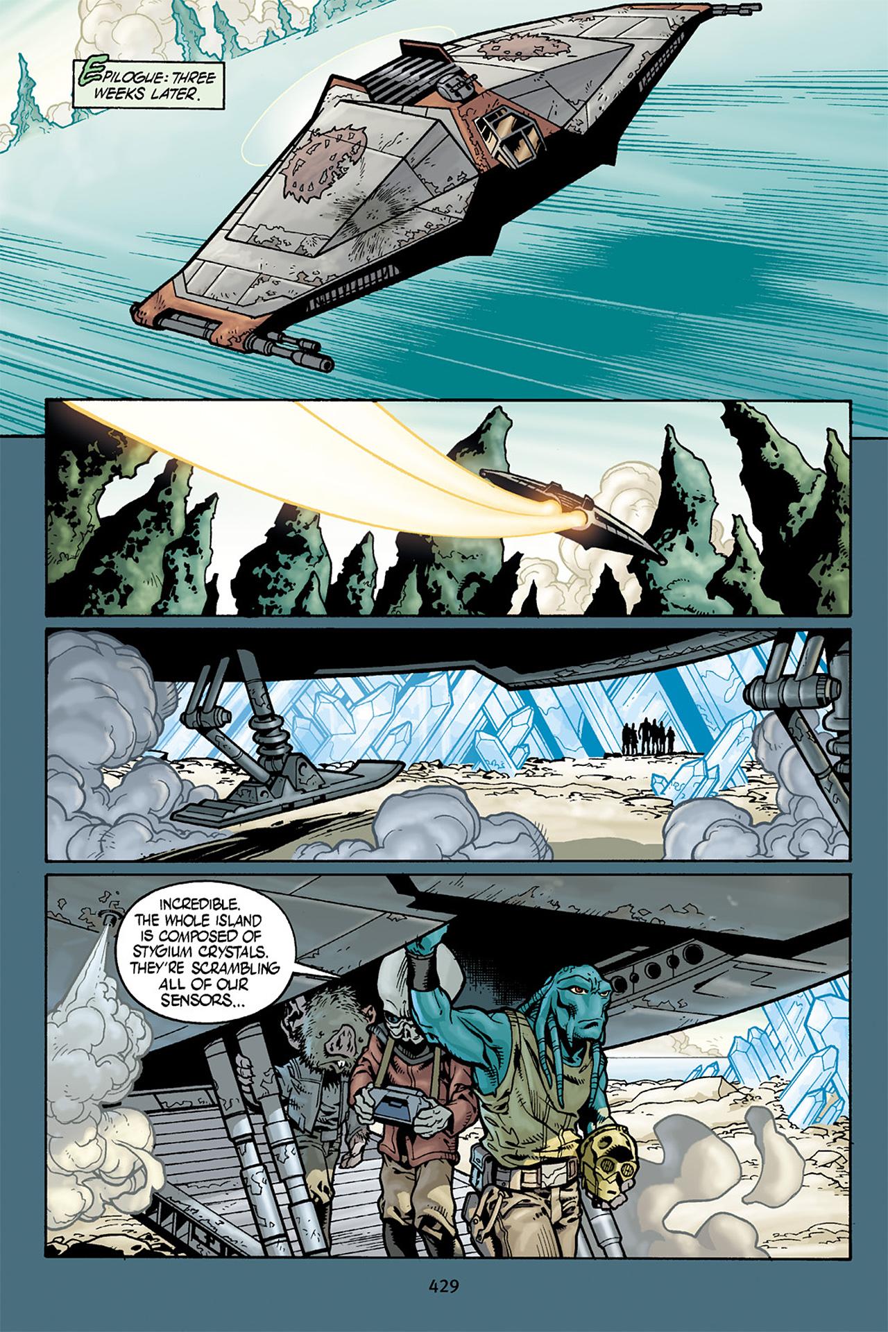 Read online Star Wars Omnibus comic -  Issue # Vol. 10 - 422