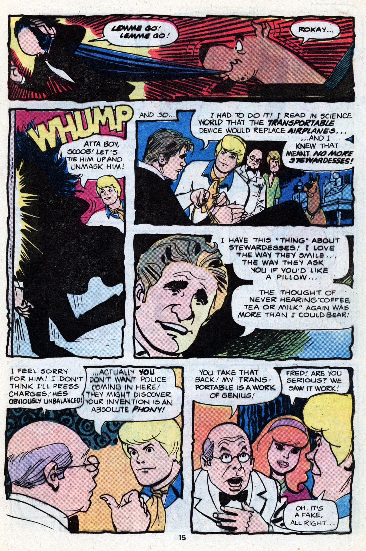 Read online Scooby-Doo (1977) comic -  Issue #7 - 17