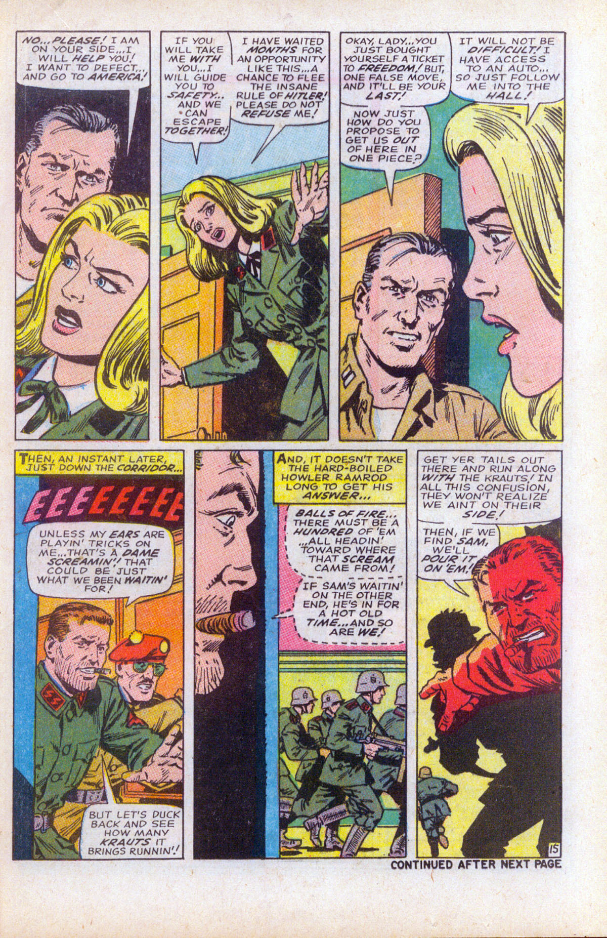 Read online Sgt. Fury comic -  Issue #61 - 21