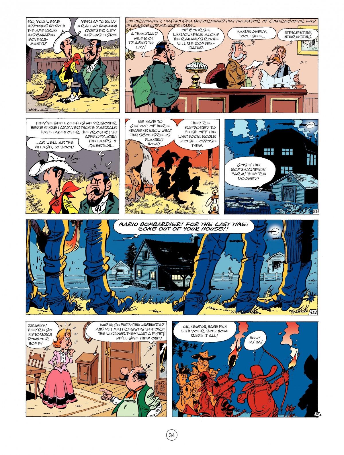 Read online A Lucky Luke Adventure comic -  Issue #52 - 36