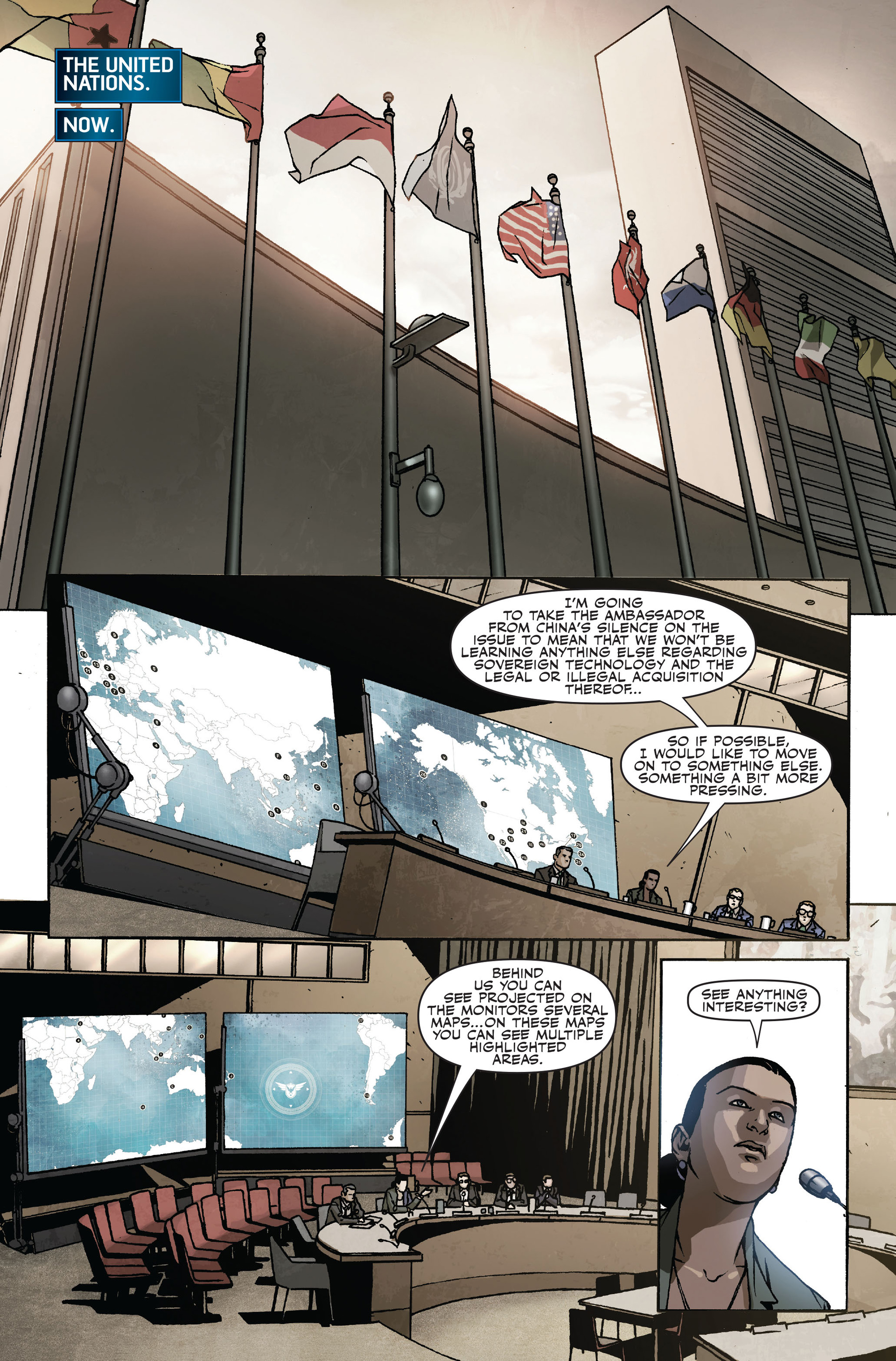 Read online Secret Warriors comic -  Issue #18 - 16