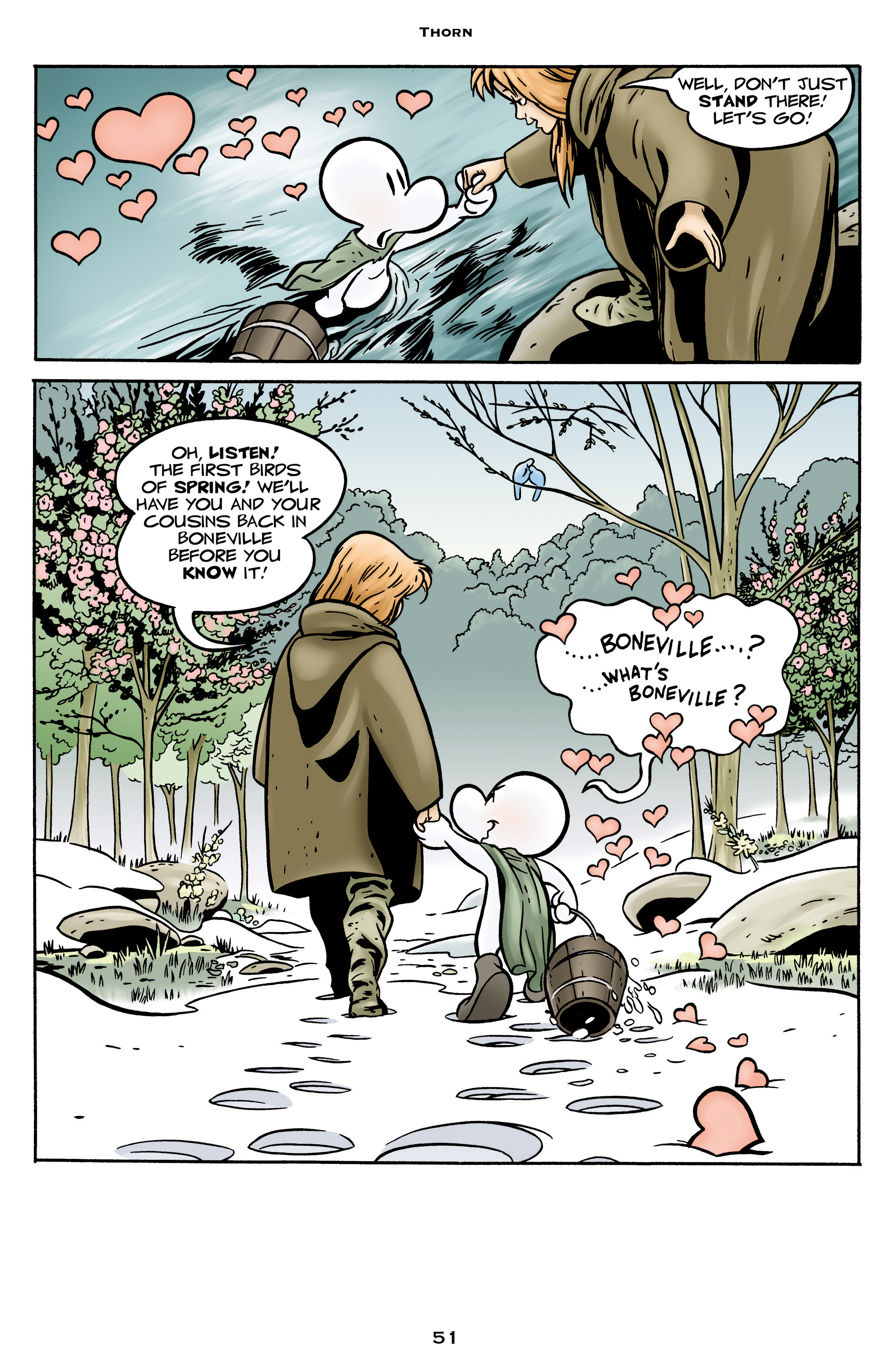 Read online Bone: Out From Boneville comic -  Issue # TPB - 51