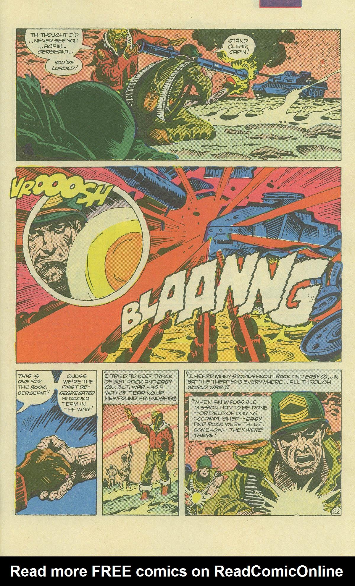 Read online Sgt. Rock comic -  Issue #406 - 30
