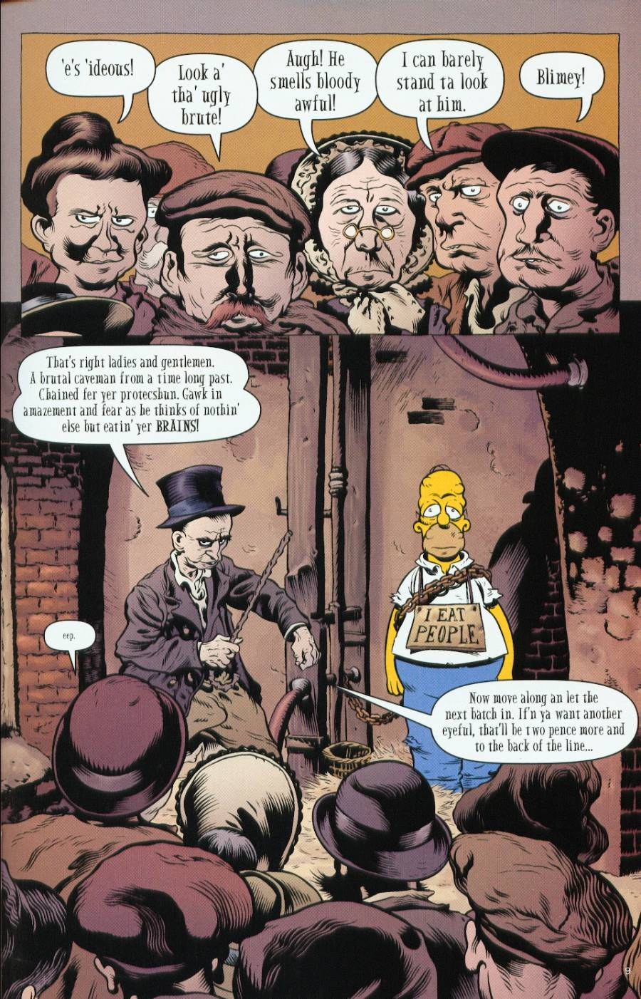 Read online Treehouse of Horror comic -  Issue #7 - 37