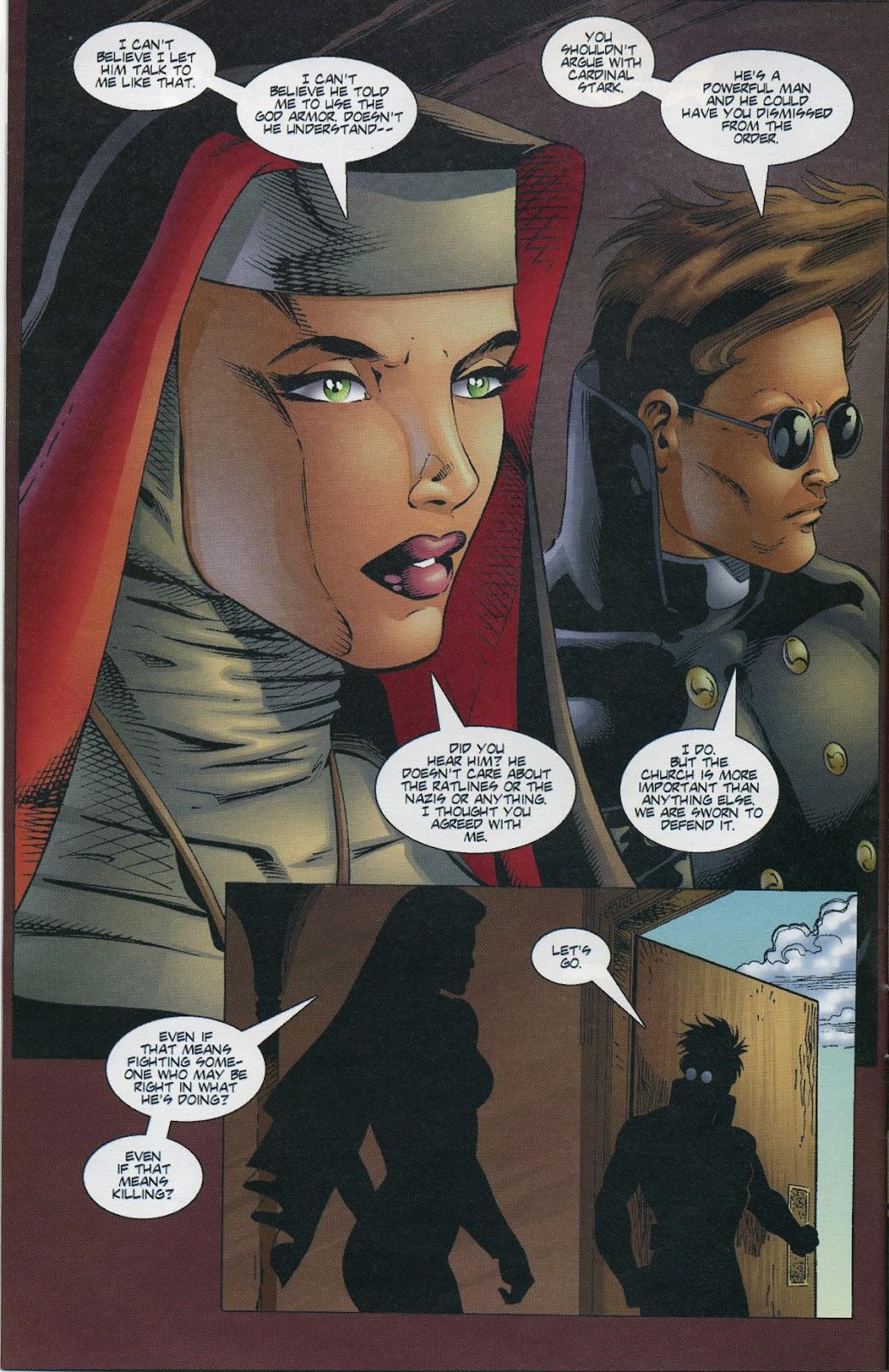Warrior Nun Areala (1997) Issue #3 #3 - English 6