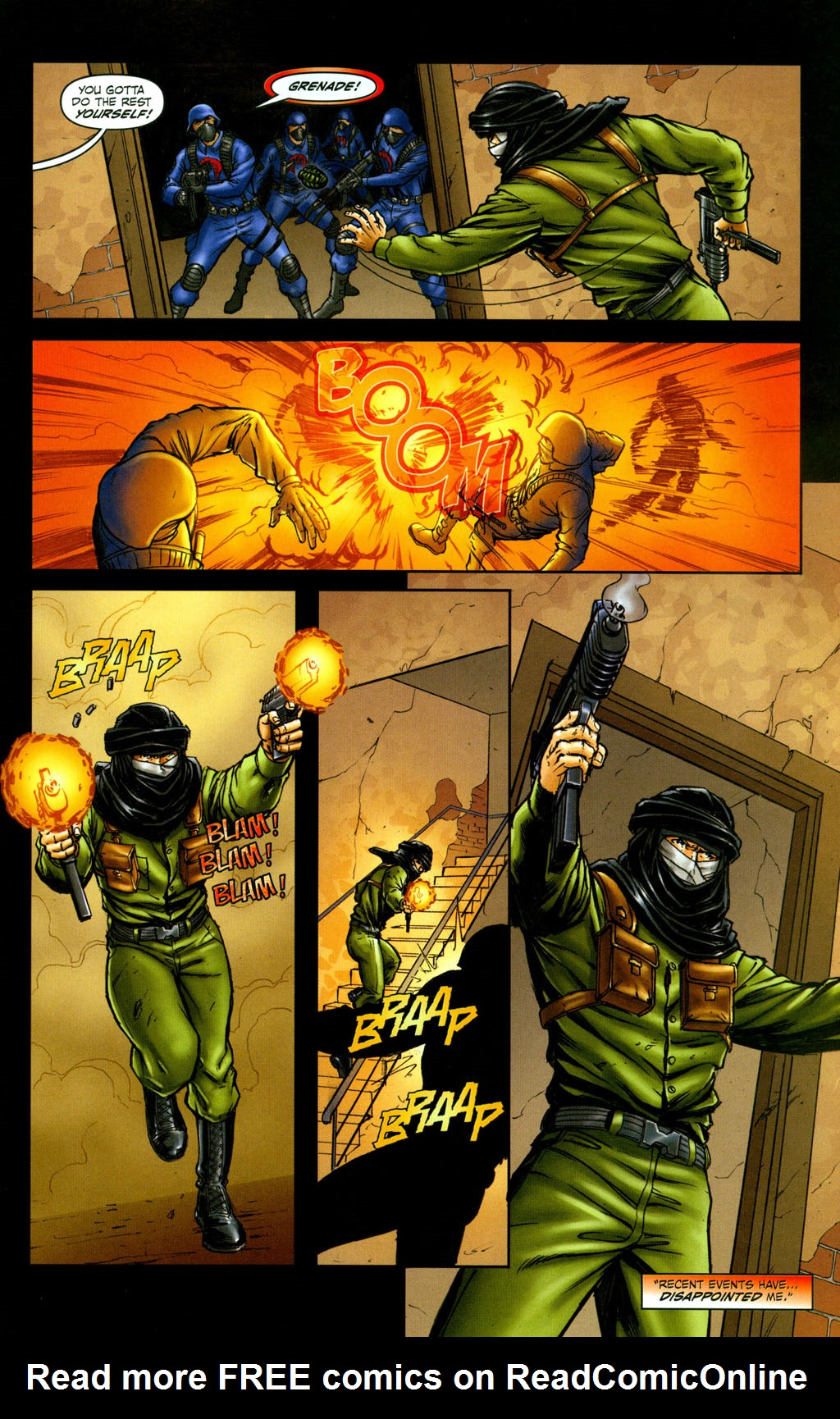 Read online Snake Eyes: Declassified comic -  Issue #6 - 18