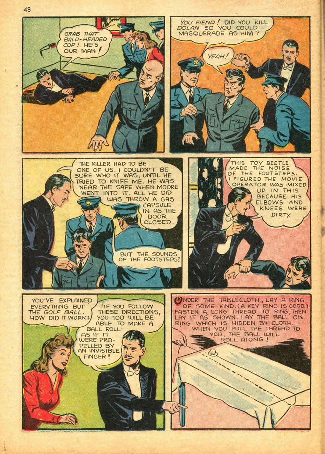 Read online Super-Magician Comics comic -  Issue #15 - 47