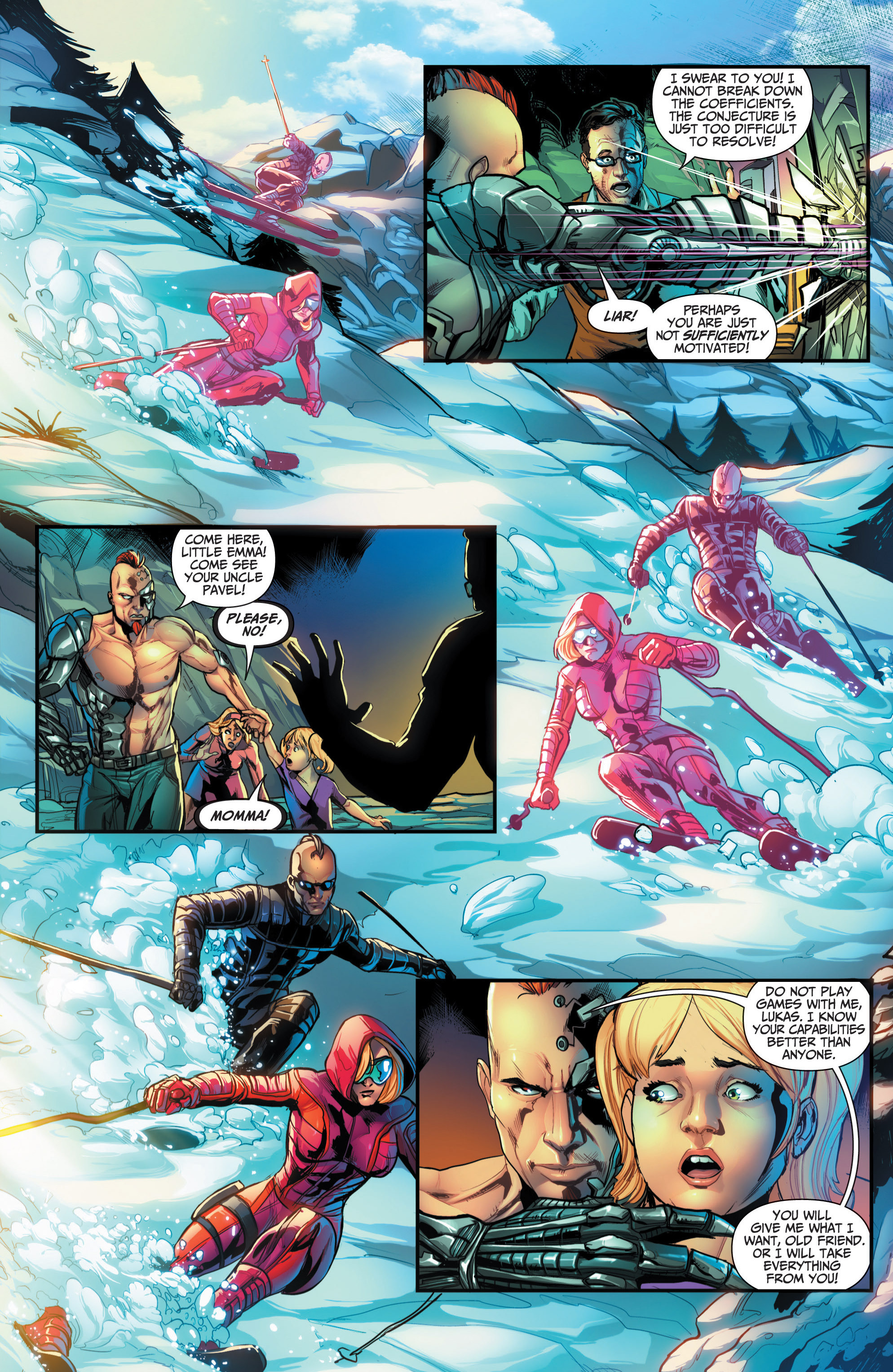 Read online Grimm Fairy Tales presents Red Agent: The Human Order comic -  Issue #6 - 15