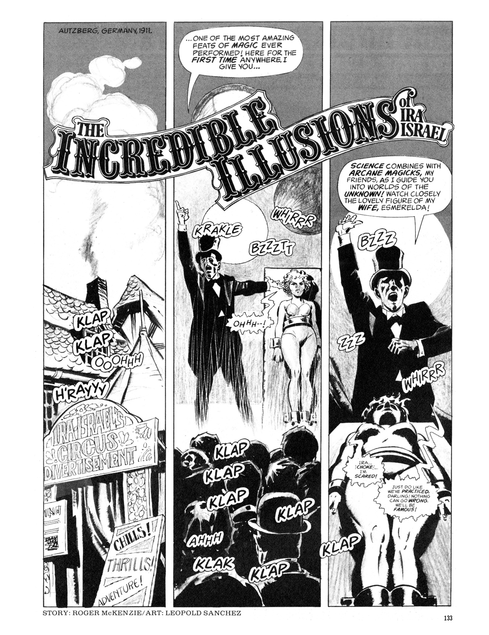 Read online Eerie Archives comic -  Issue # TPB 18 - 134