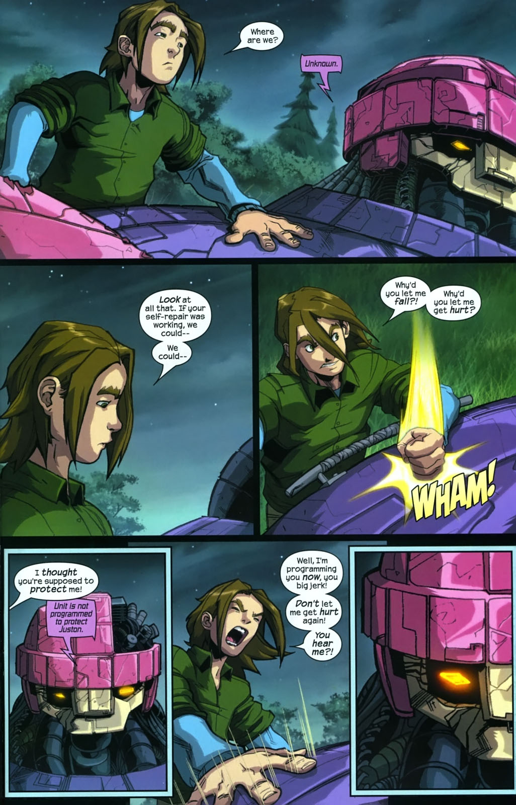 Read online Sentinel (2006) comic -  Issue #3 - 18
