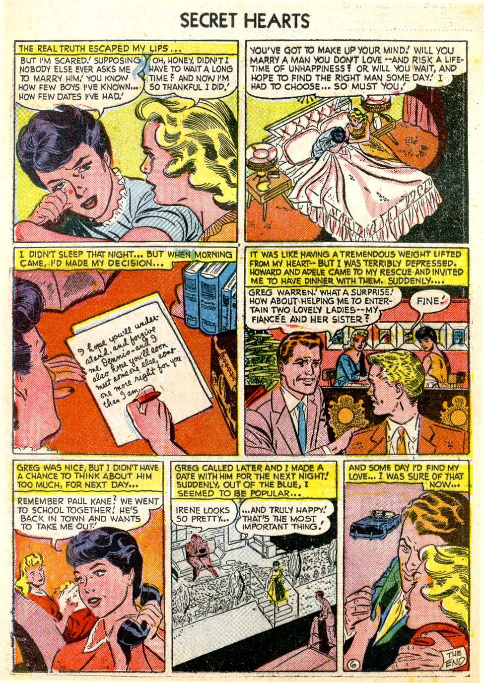 Read online Secret Hearts comic -  Issue #26 - 16