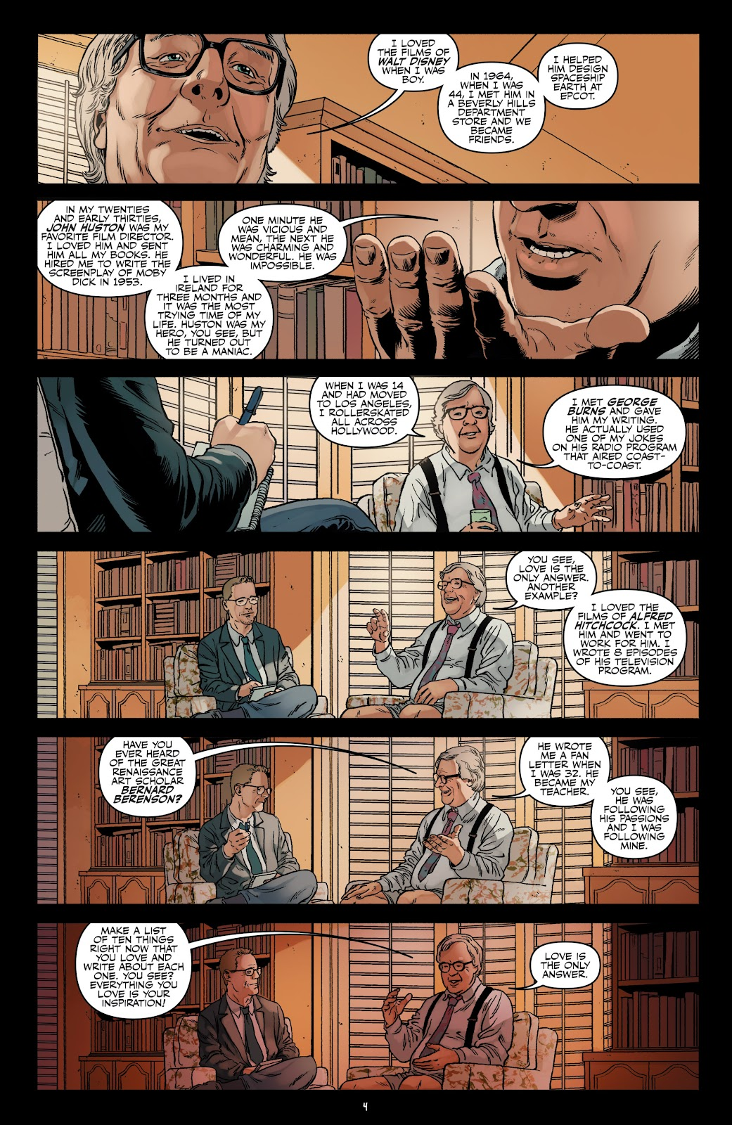 Read online Shadow Show: Stories in Celebration of Ray Bradbury comic -  Issue #3 - 6