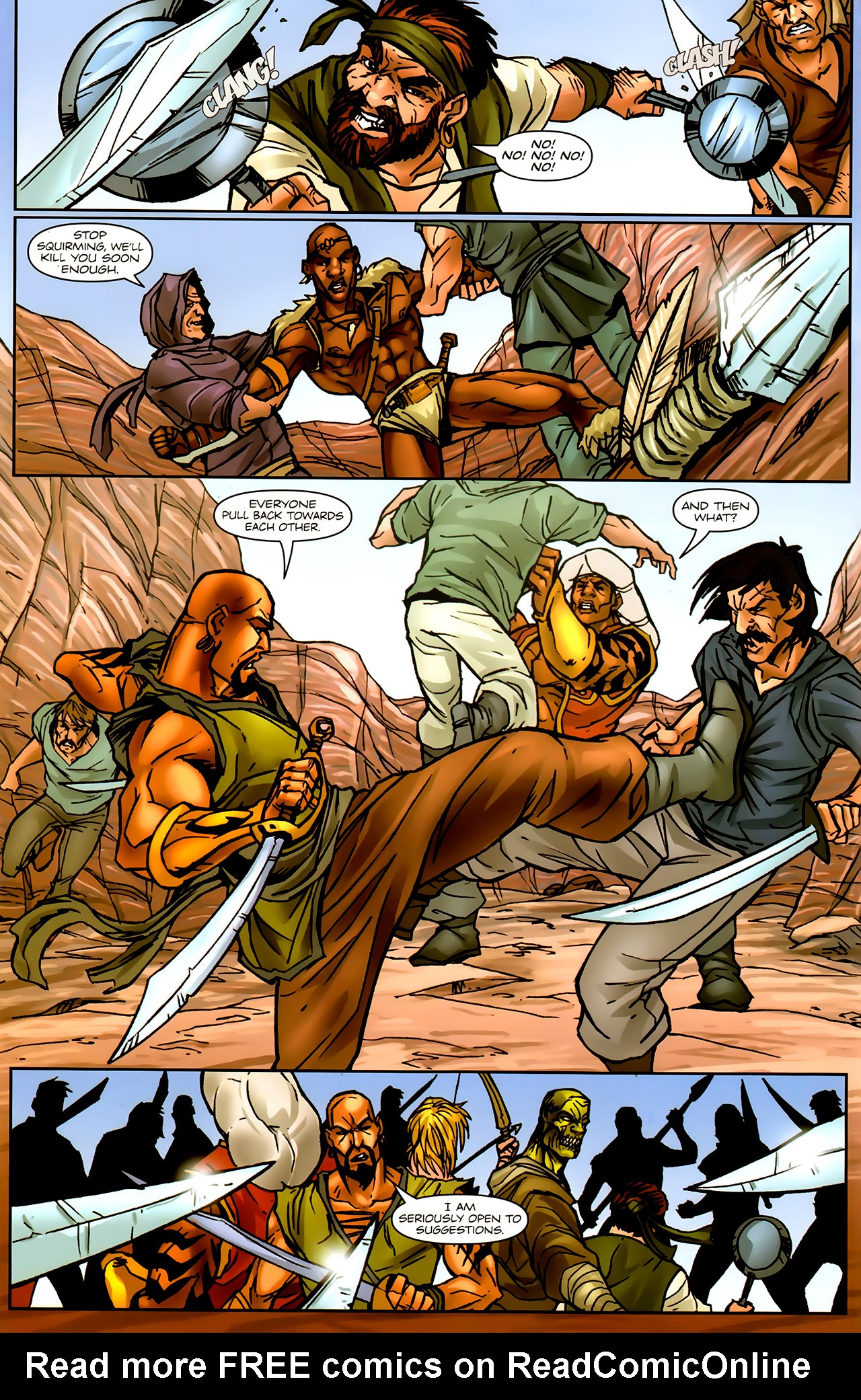 Read online 1001 Arabian Nights: The Adventures of Sinbad comic -  Issue #9 - 18