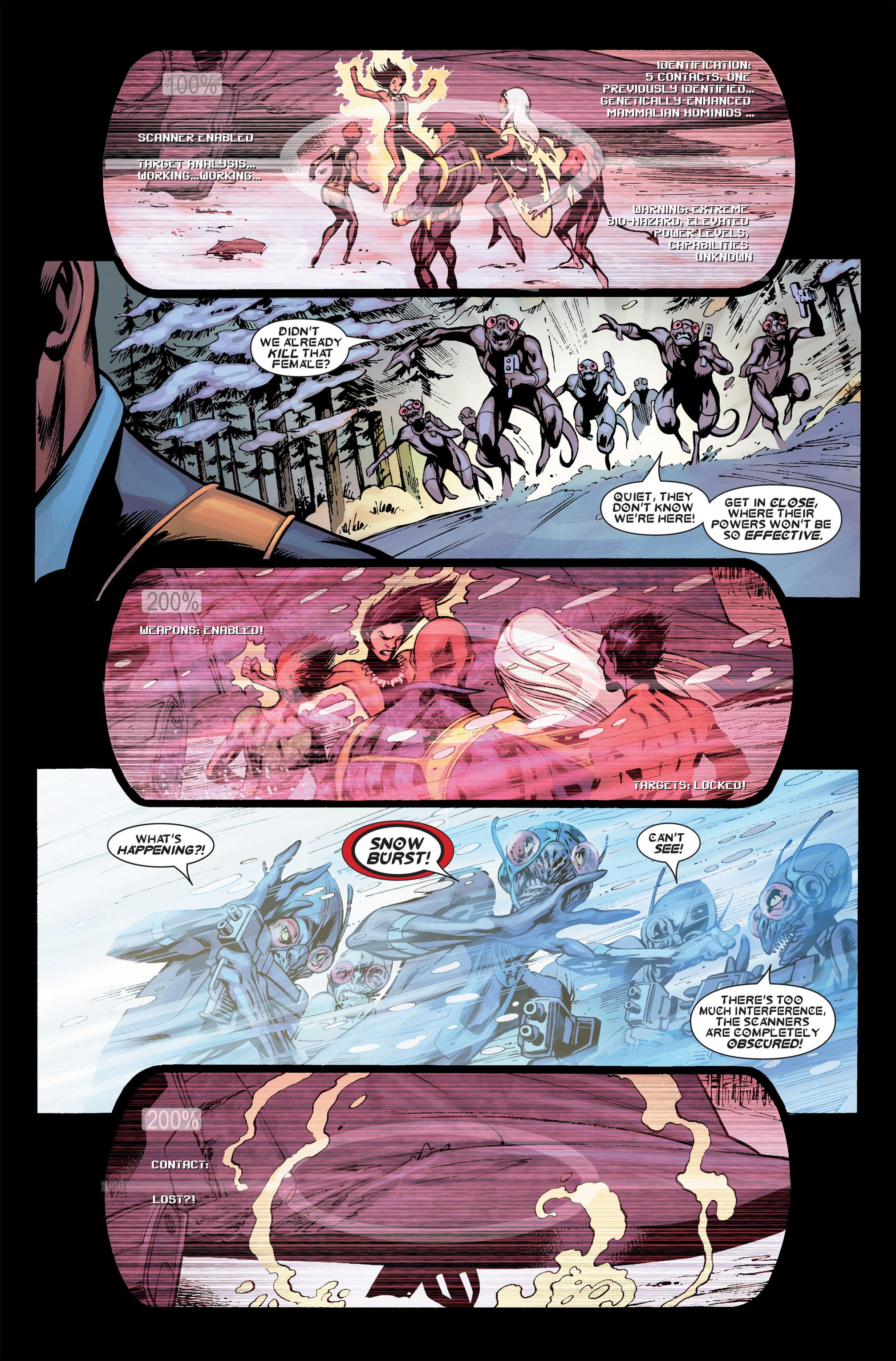 Read online Uncanny X-Men (1963) comic -  Issue #456 - 2