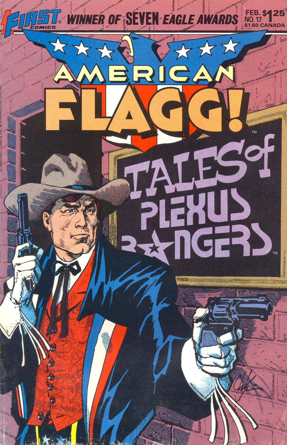 Read online American Flagg! comic -  Issue #17 - 1