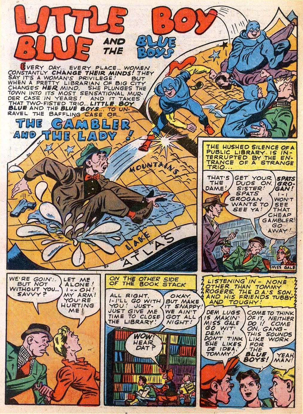 Read online Sensation (Mystery) Comics comic -  Issue #27 - 25
