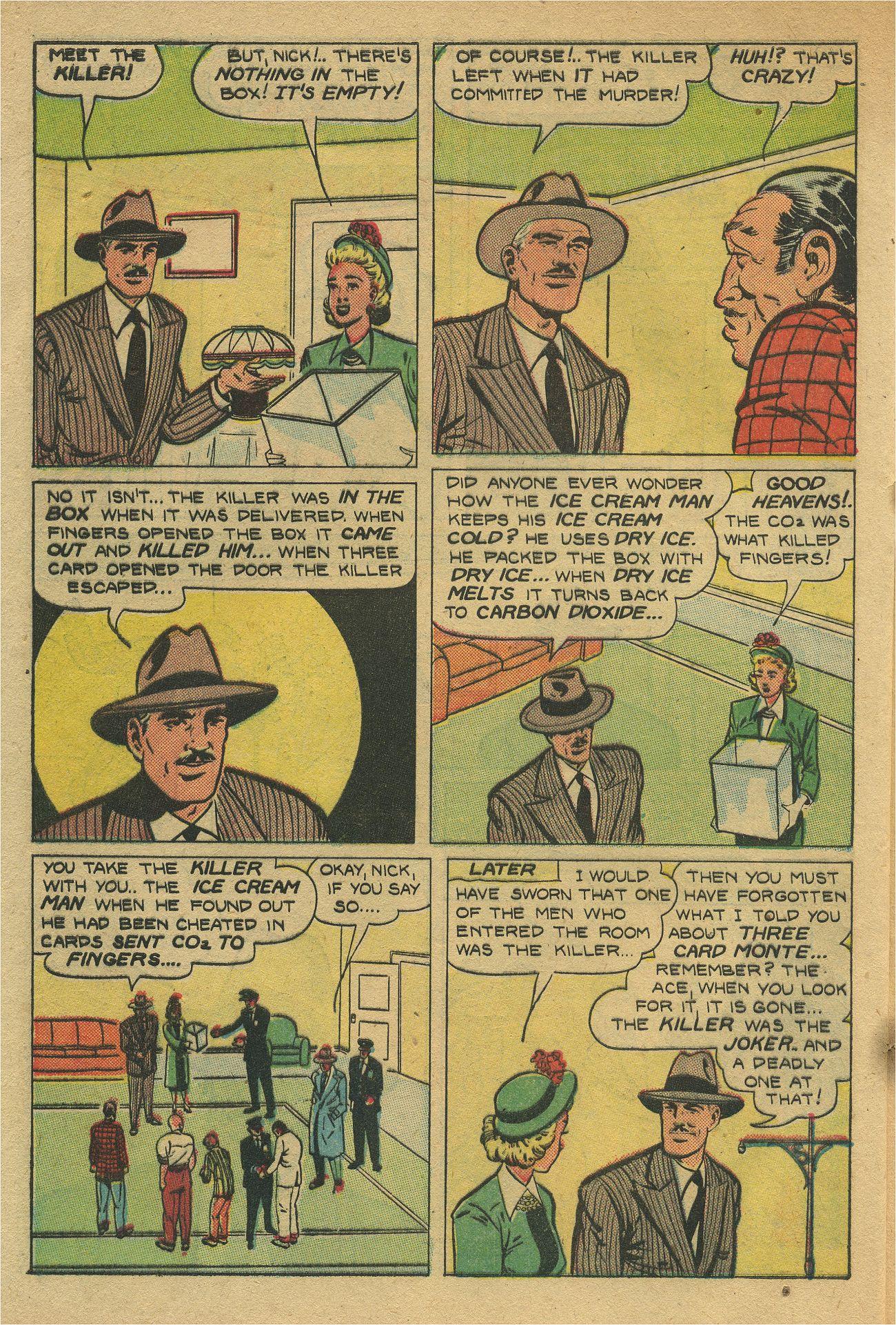 Read online Shadow Comics comic -  Issue #93 - 41