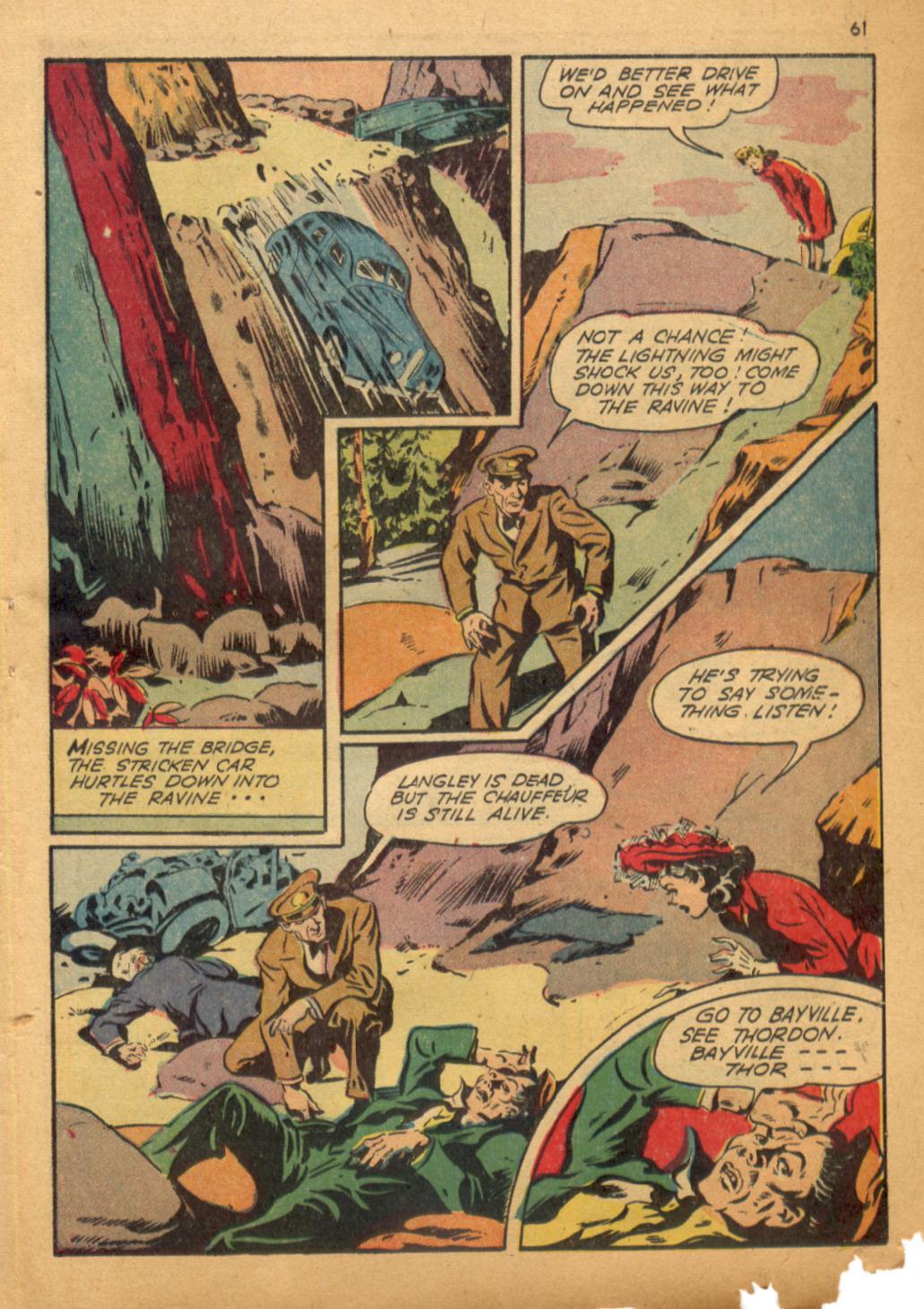 Read online Shadow Comics comic -  Issue #32 - 62