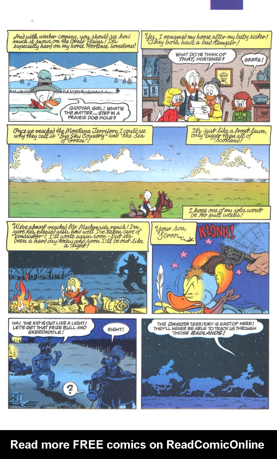 Read online Uncle Scrooge (1953) comic -  Issue #287 - 8