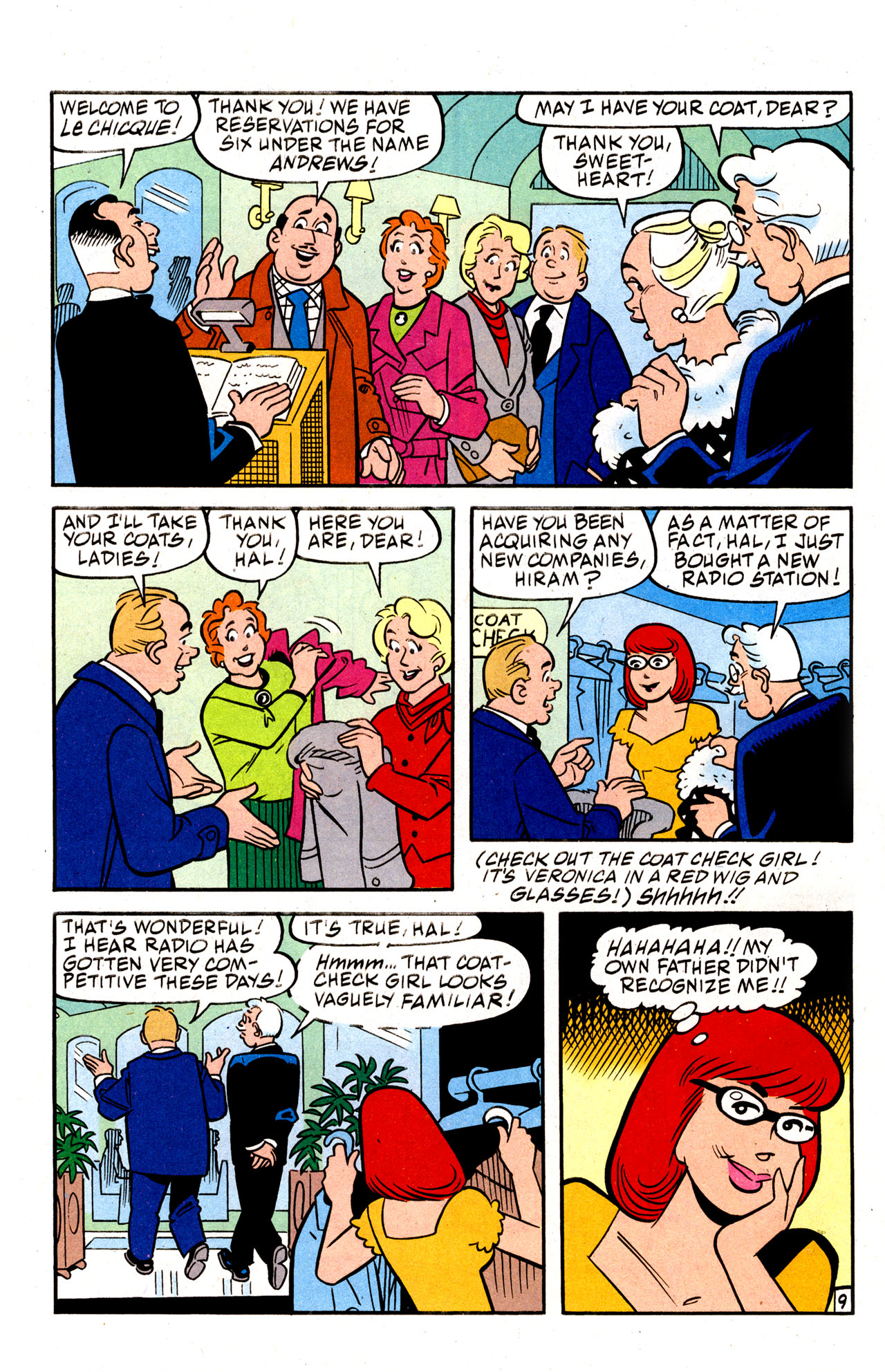 Read online Archie (1960) comic -  Issue #574 - 12