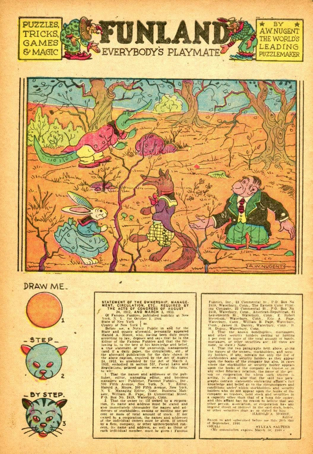 Read online Famous Funnies comic -  Issue #151 - 42