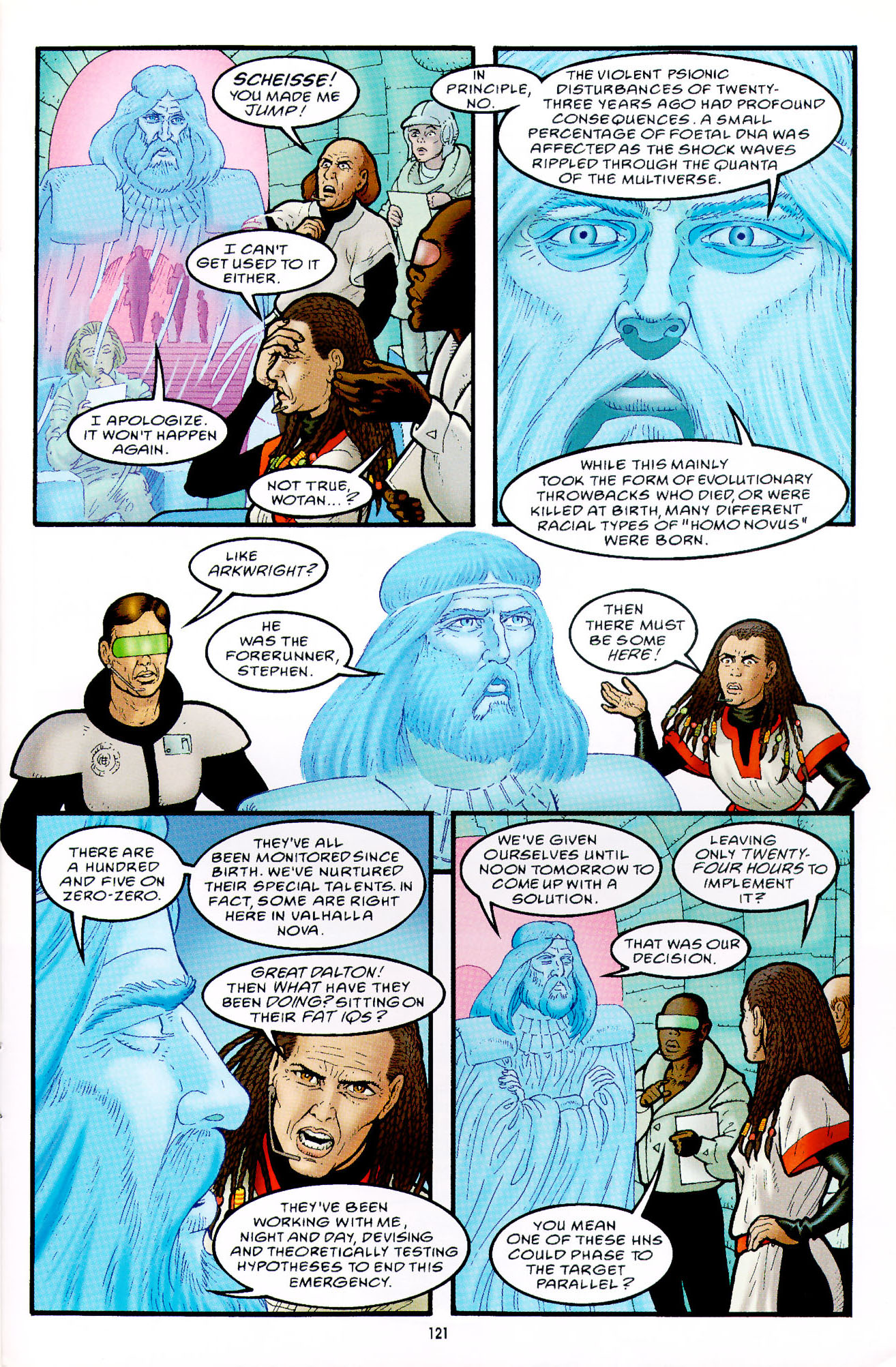 Read online Heart of Empire comic -  Issue #4 - 25