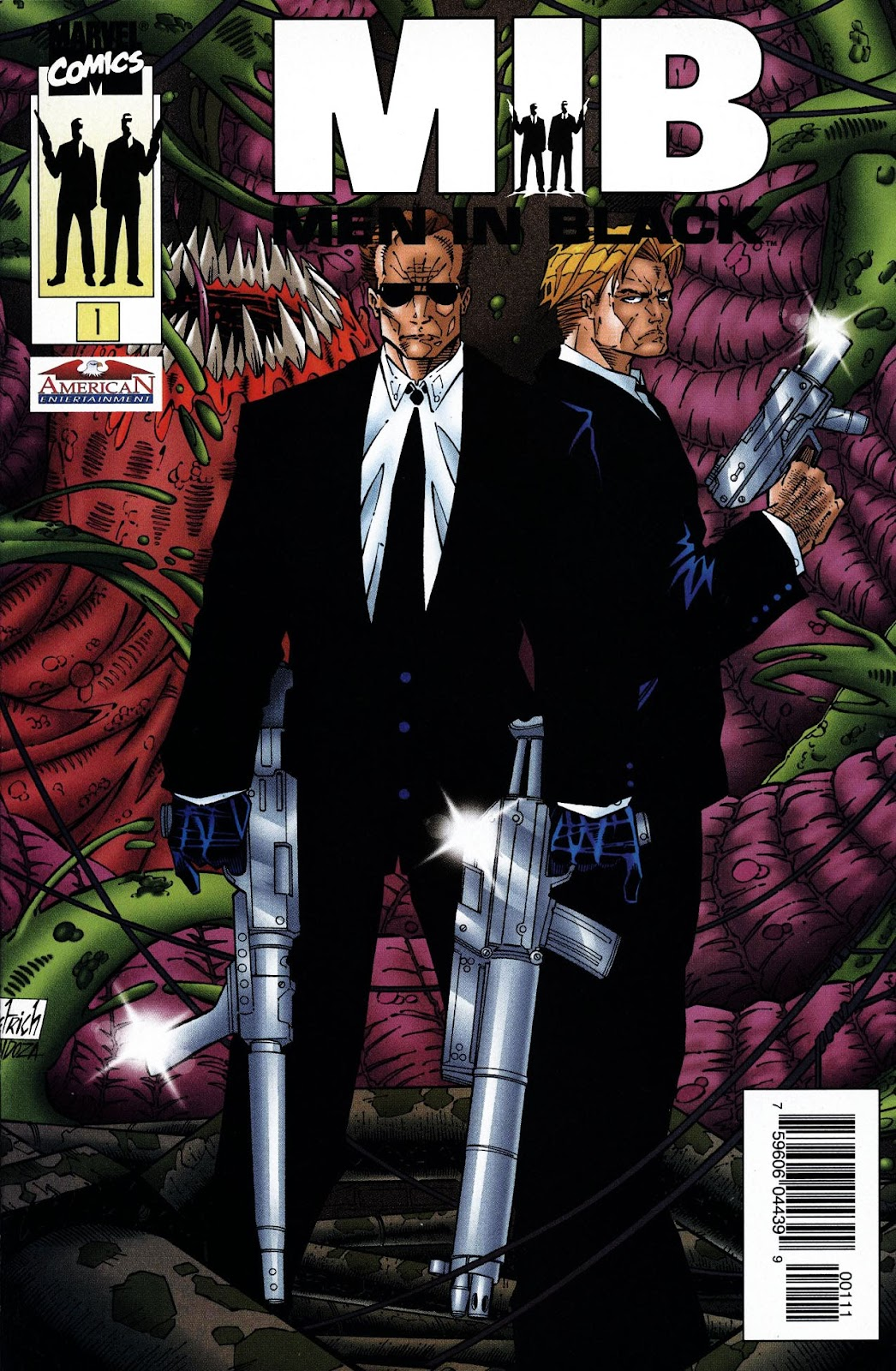Men in Black issue Full - Page 1
