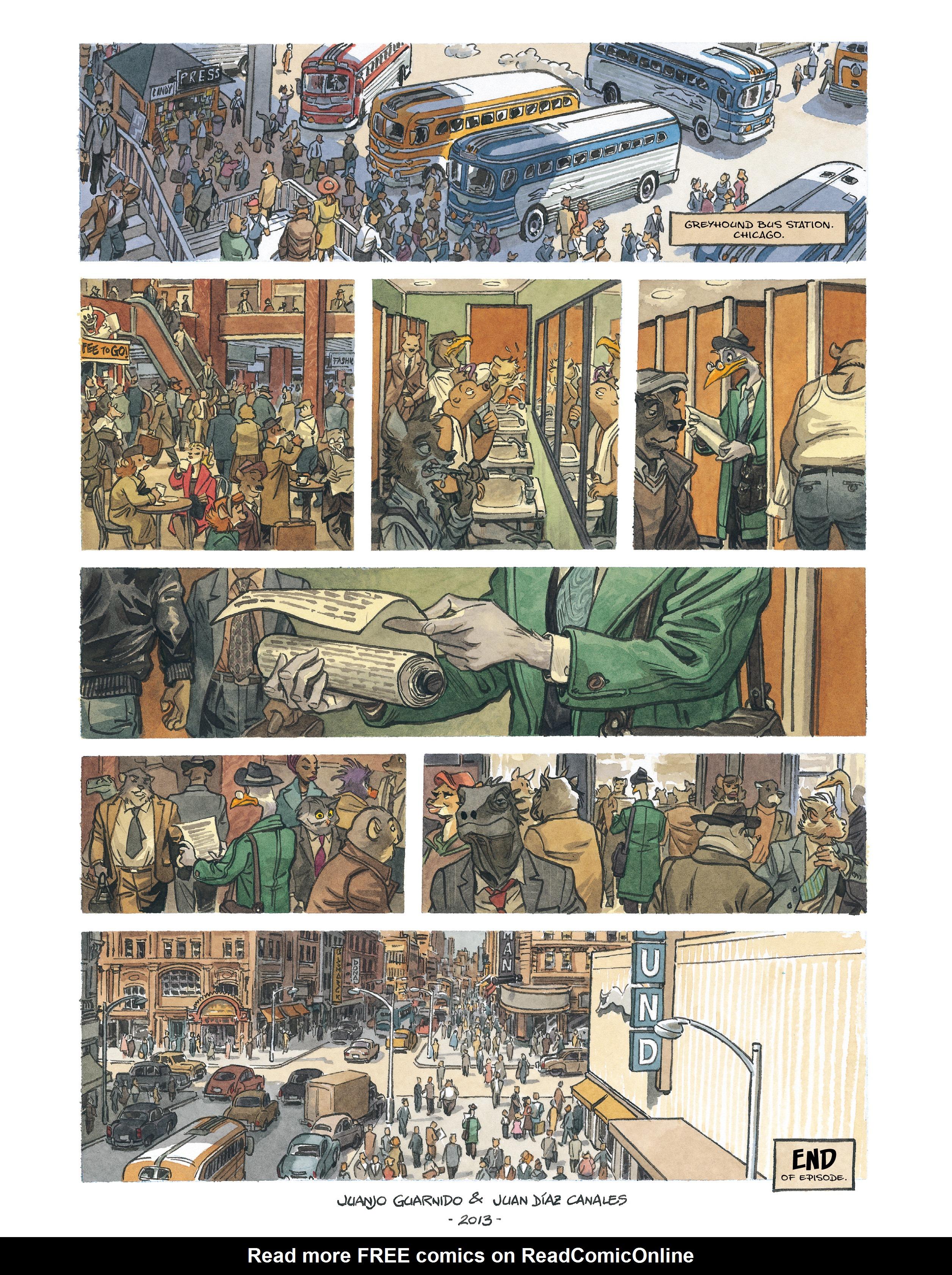 Read online Blacksad: Amarillo comic -  Issue # Full - 63
