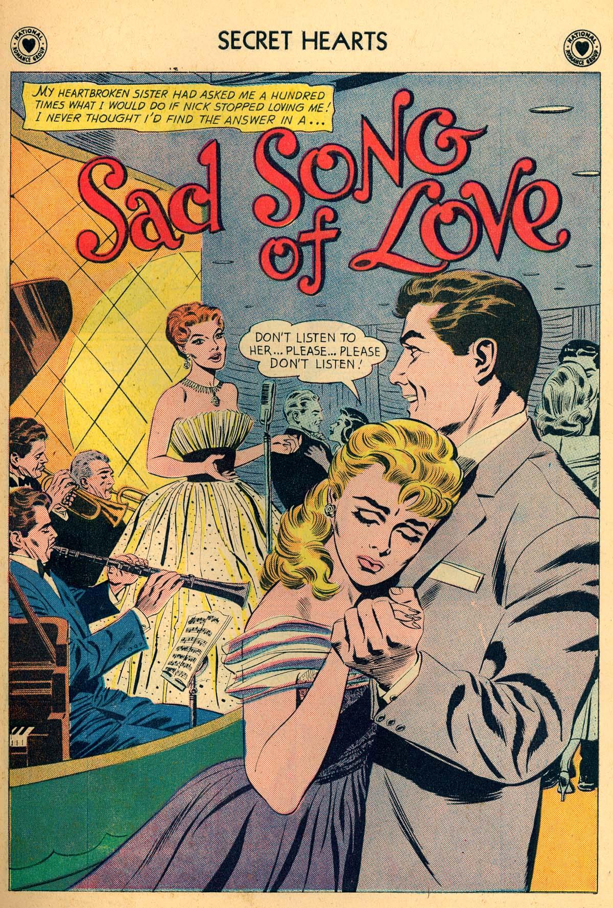 Read online Secret Hearts comic -  Issue #66 - 27