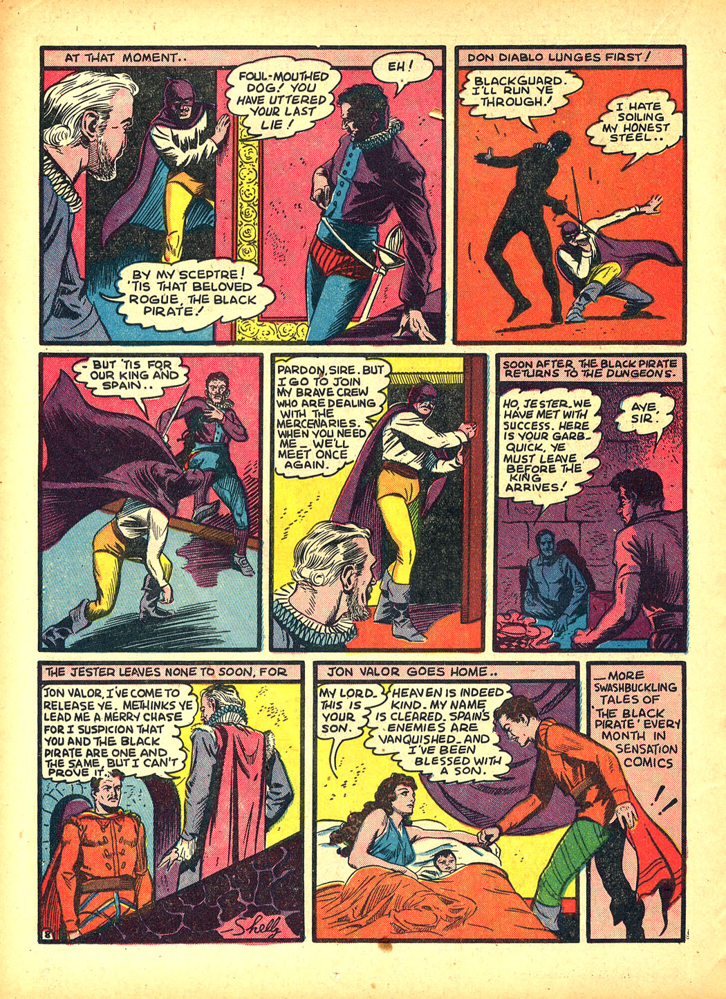 Read online Sensation (Mystery) Comics comic -  Issue #5 - 24