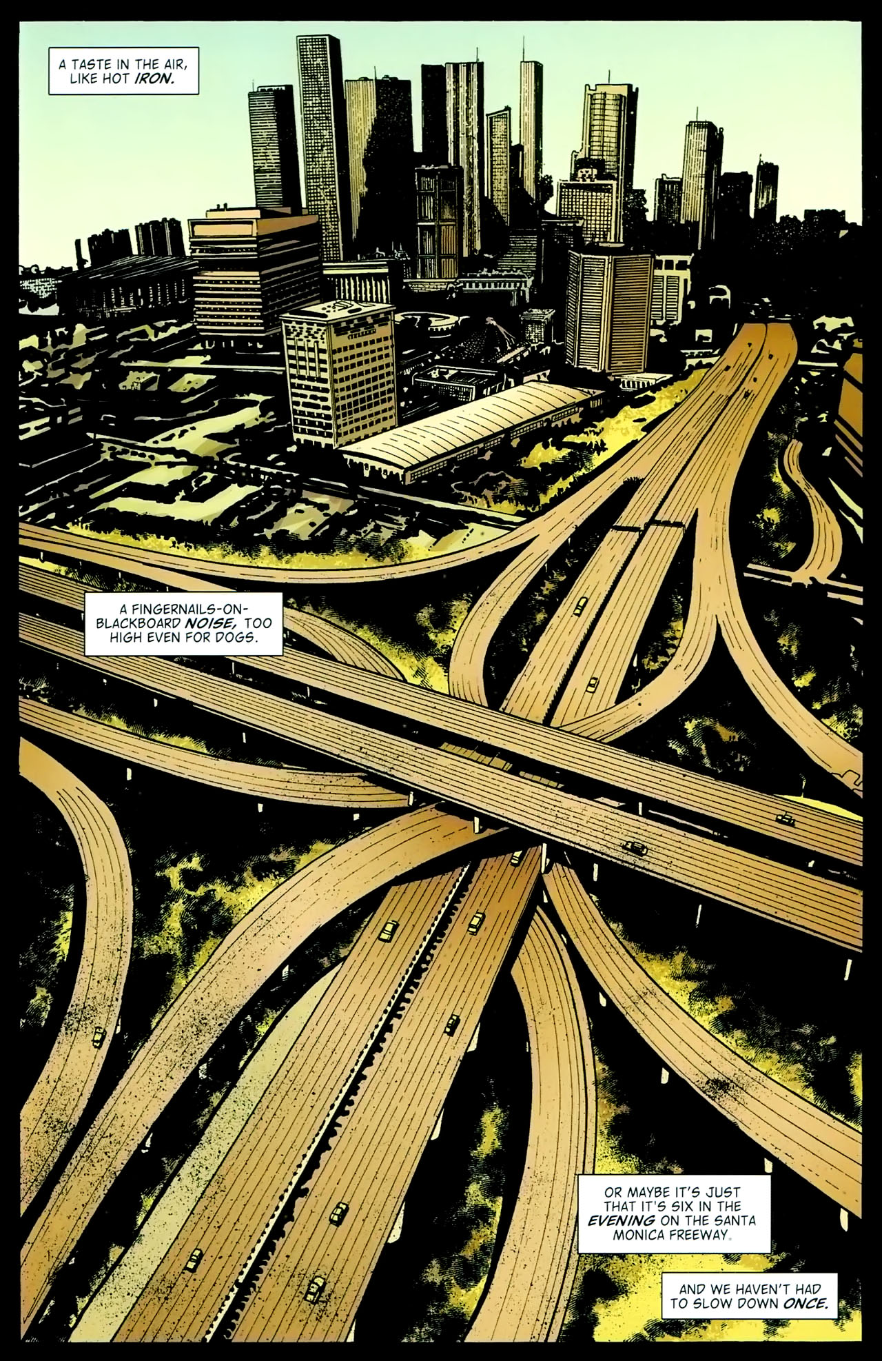 Read online John Constantine Hellblazer: All His Engines comic -  Issue # Full - 35
