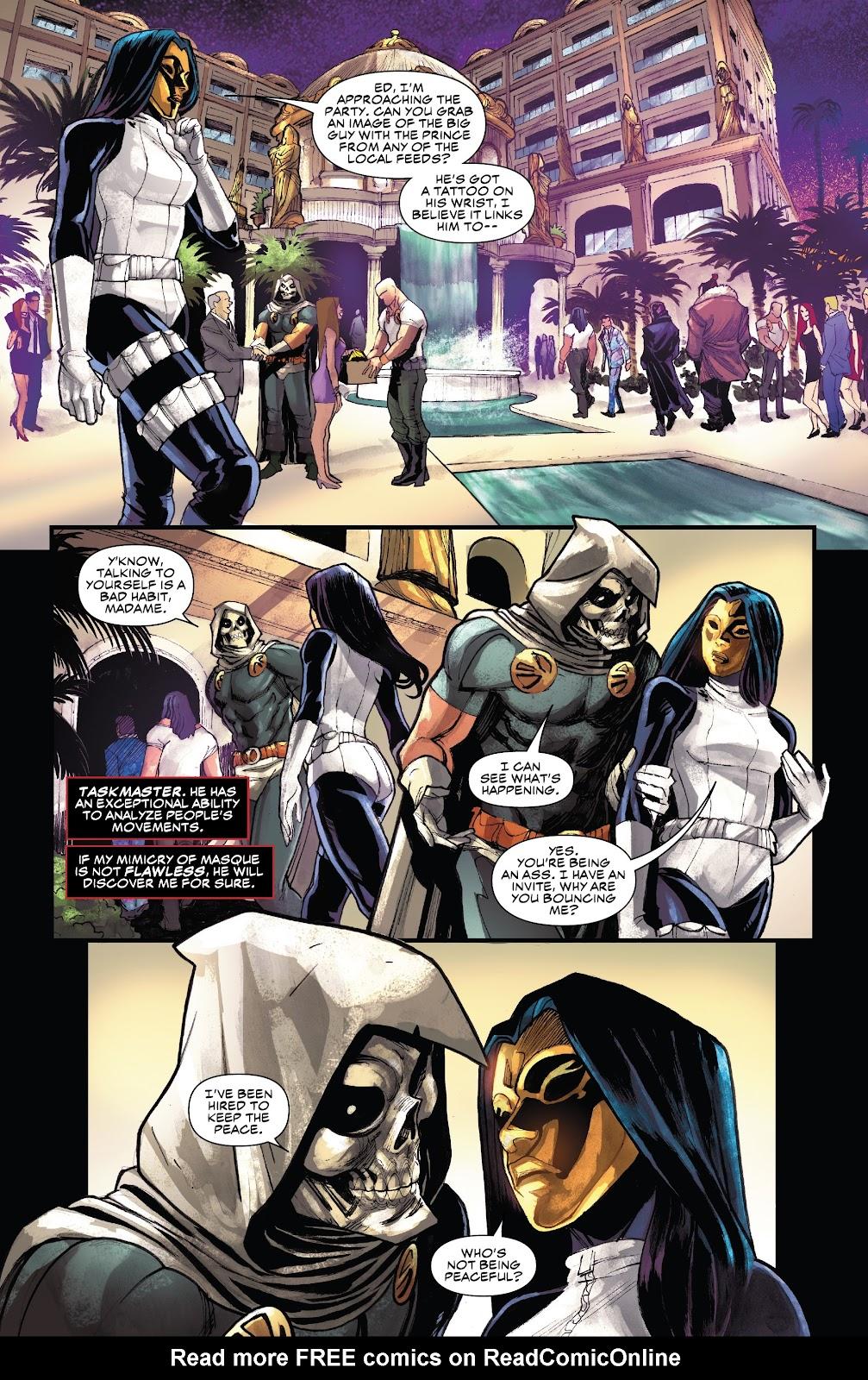 Read online Black Widow (2019) comic -  Issue #3 - 9