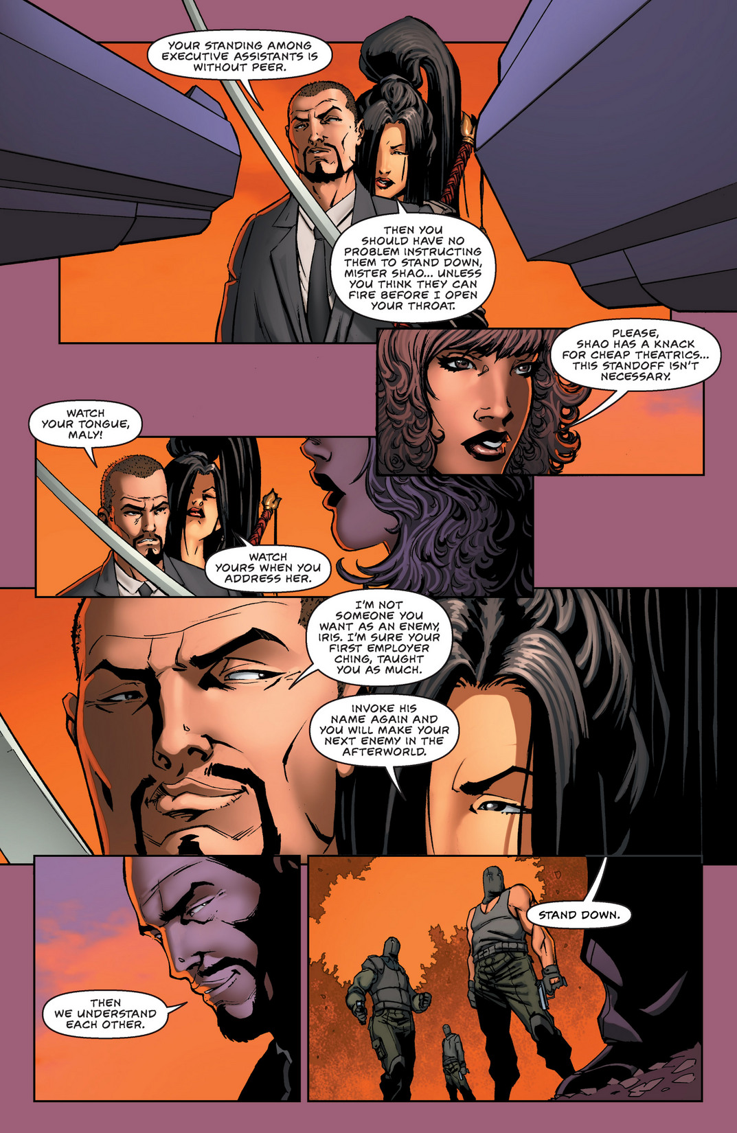 Read online All New Executive Assistant: Iris comic -  Issue #2 - 6